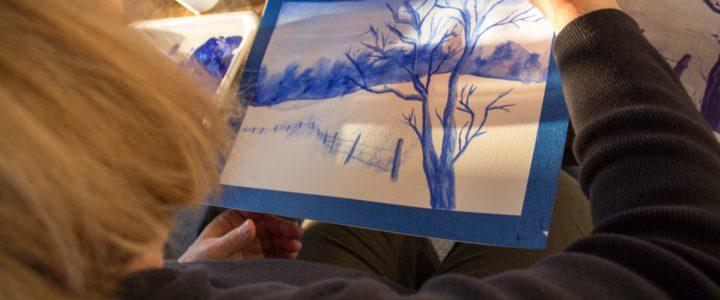 Goldmoor Inn Artists in Residence Teaching January Painting Workshops