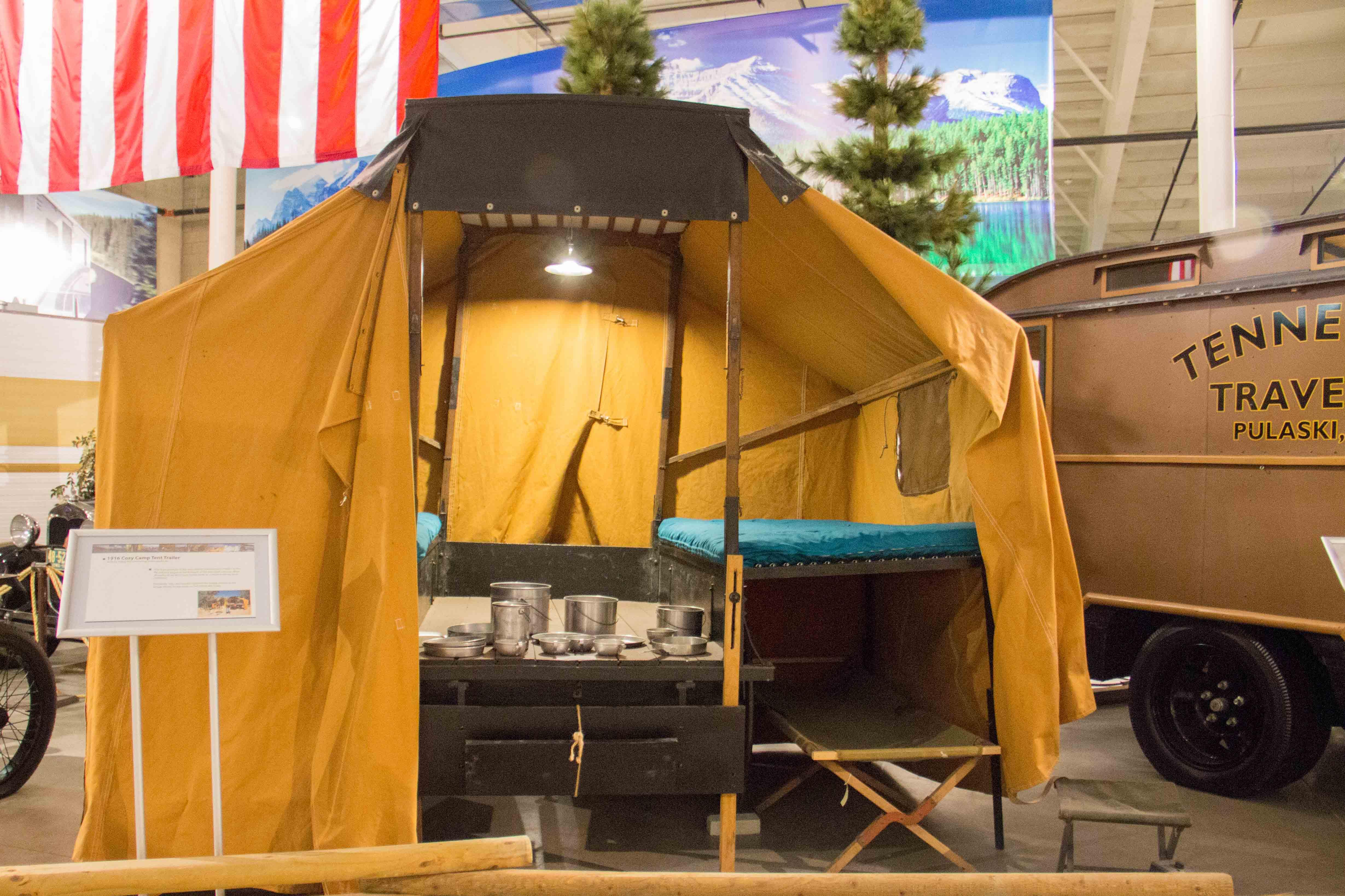 1916 Cozy Camp Tent Trailer