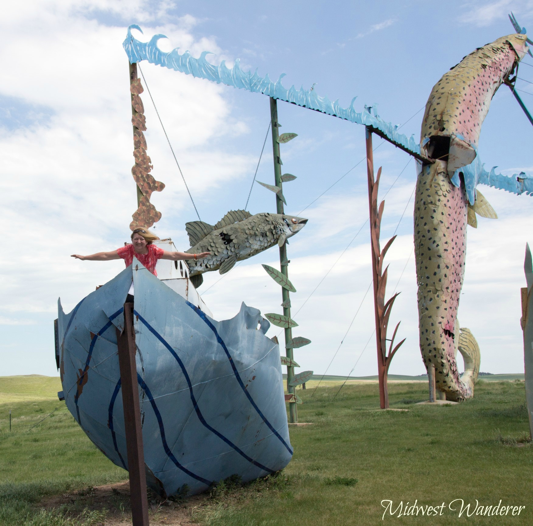 Fisherman's Dream, Enchanted Highway