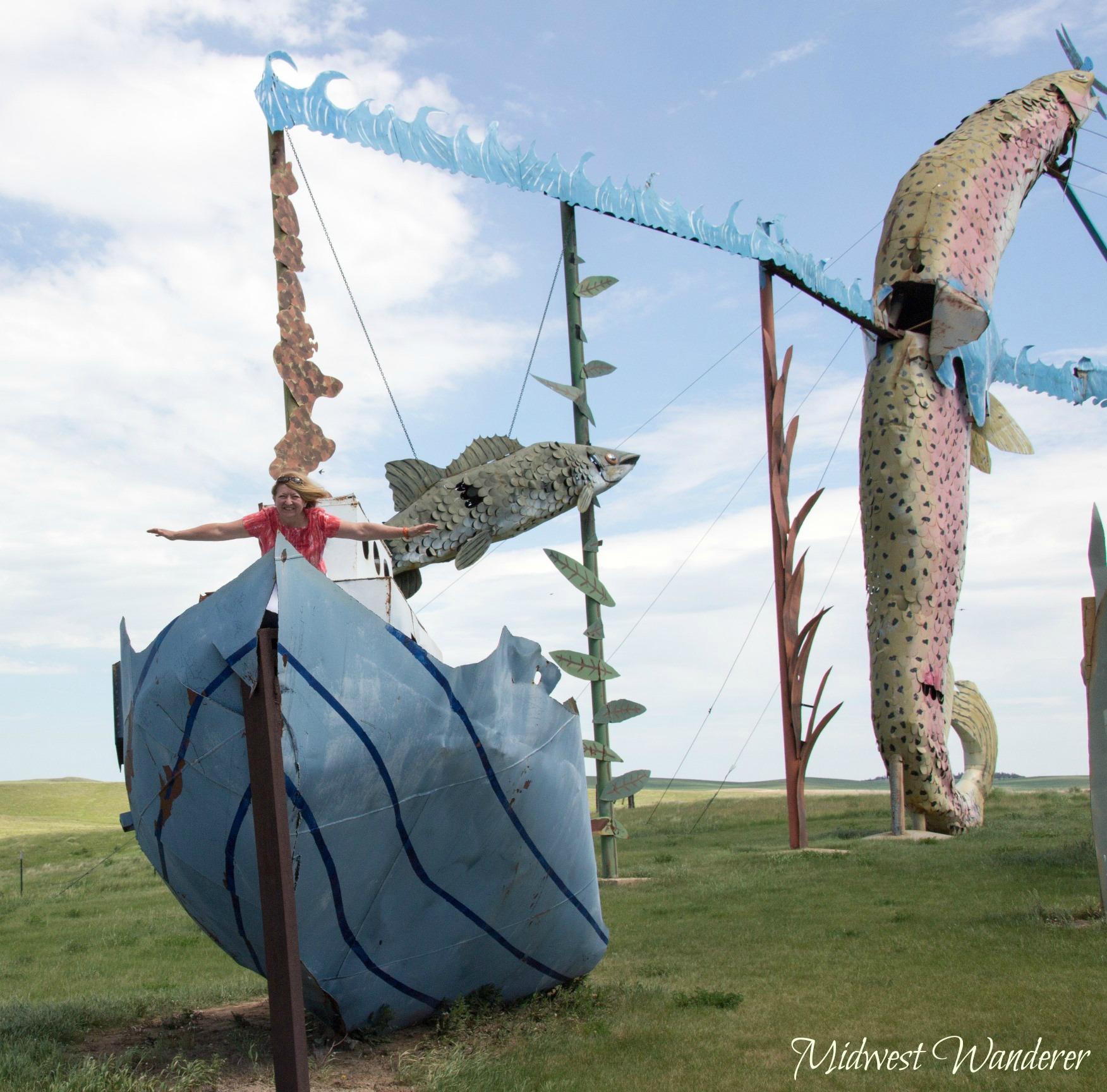 Fisherman's Dream, Enchanted Highway