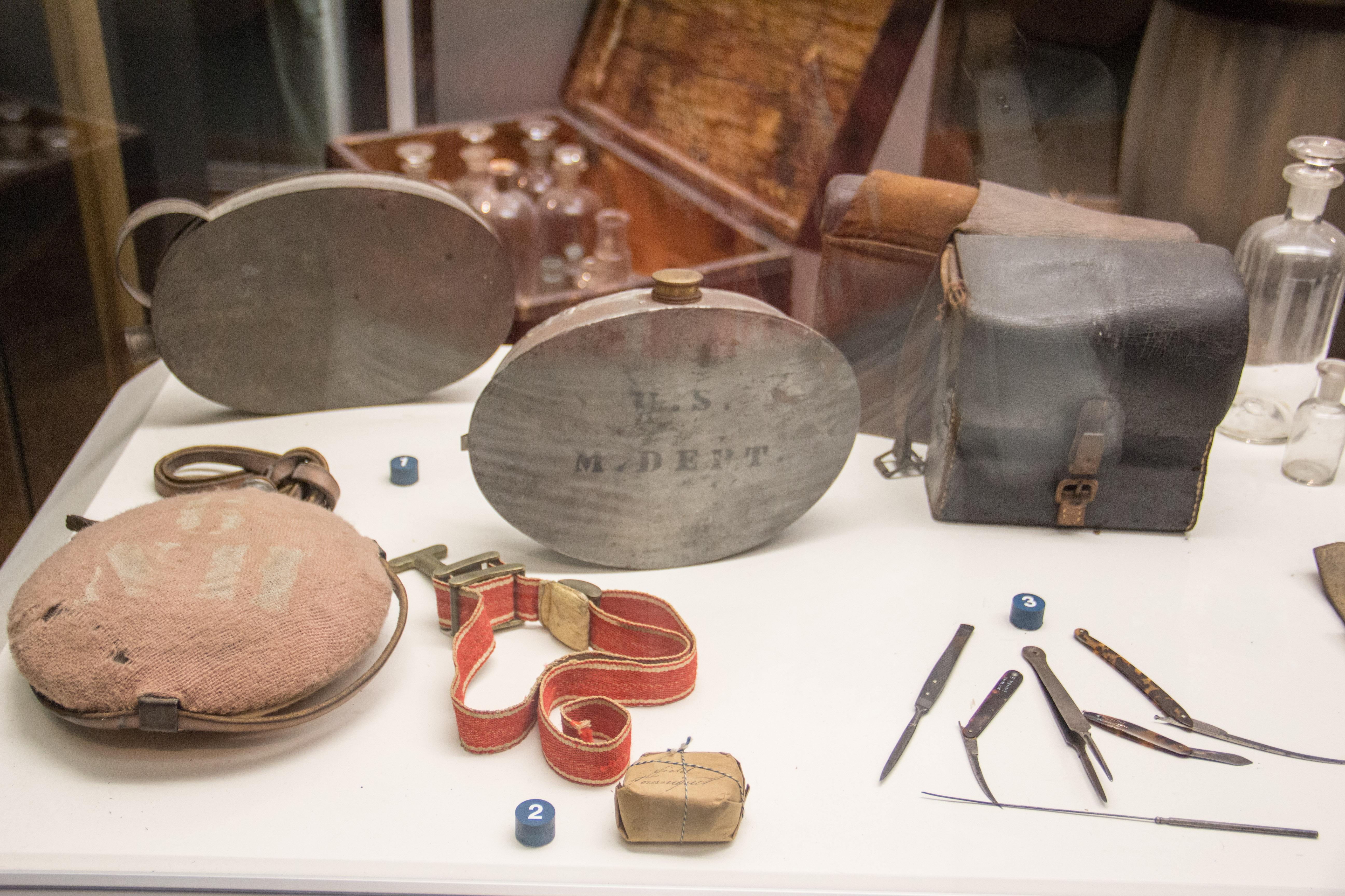 Civil War medical equipment