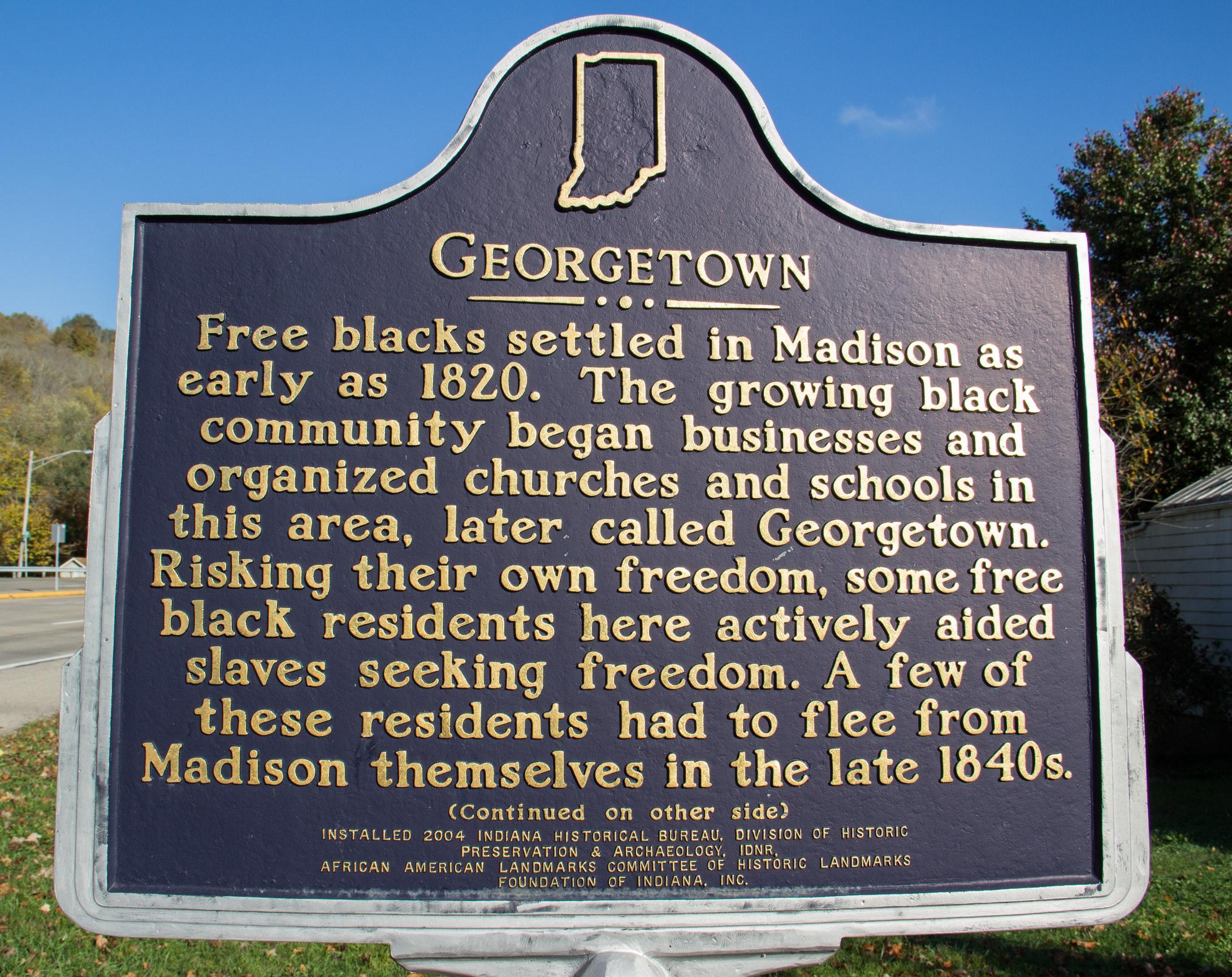Underground Railroad Walking Tour In Ohio