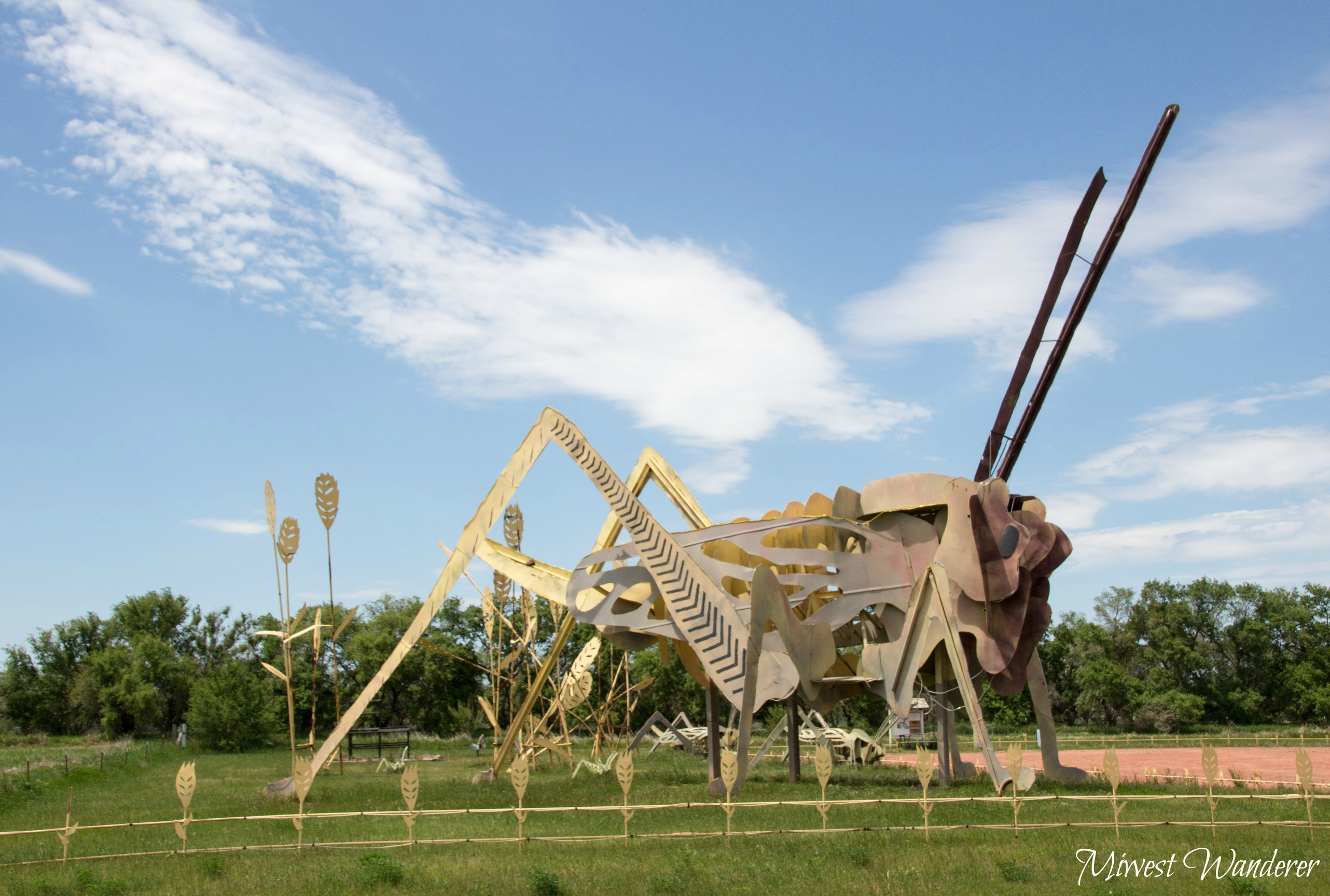 Grasshopper, Enchanted Highway