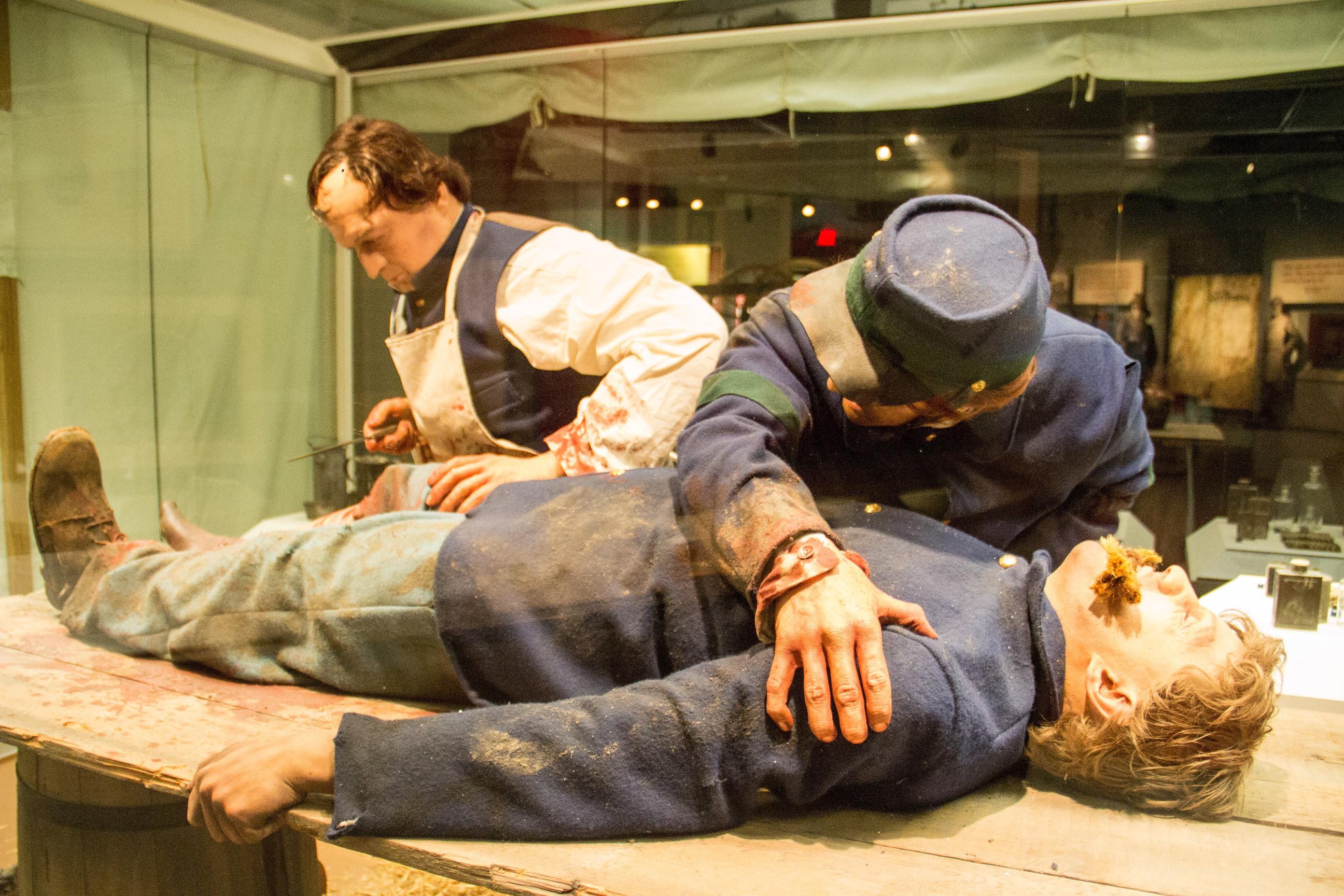 Diorama at National Civil War Museum