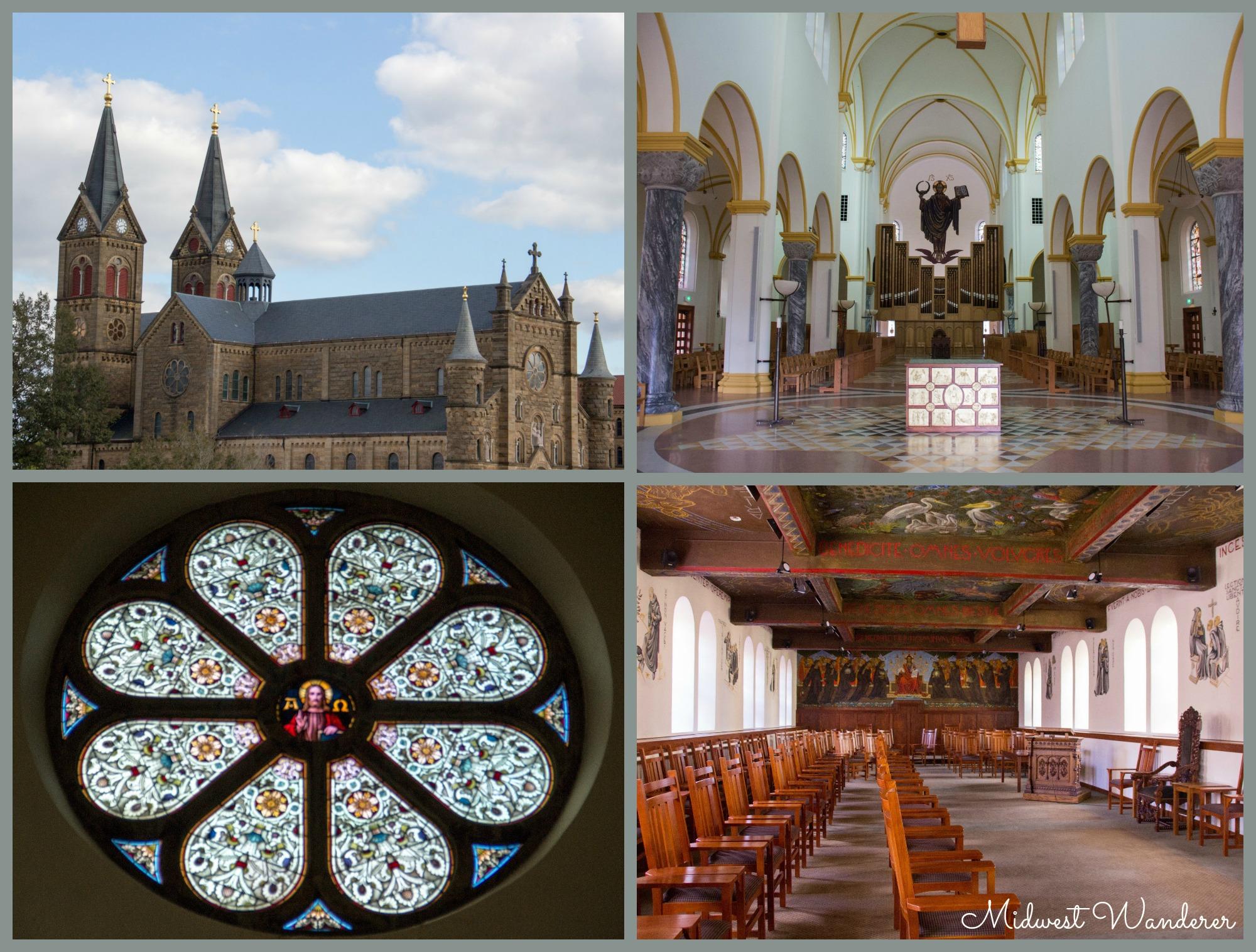 Trail of Faith - St Meinrad Archabbey