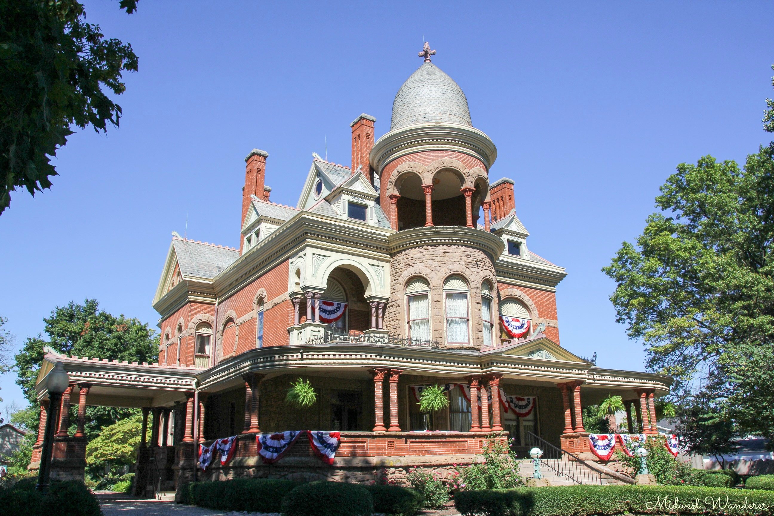 Seiberling Mansion exterior