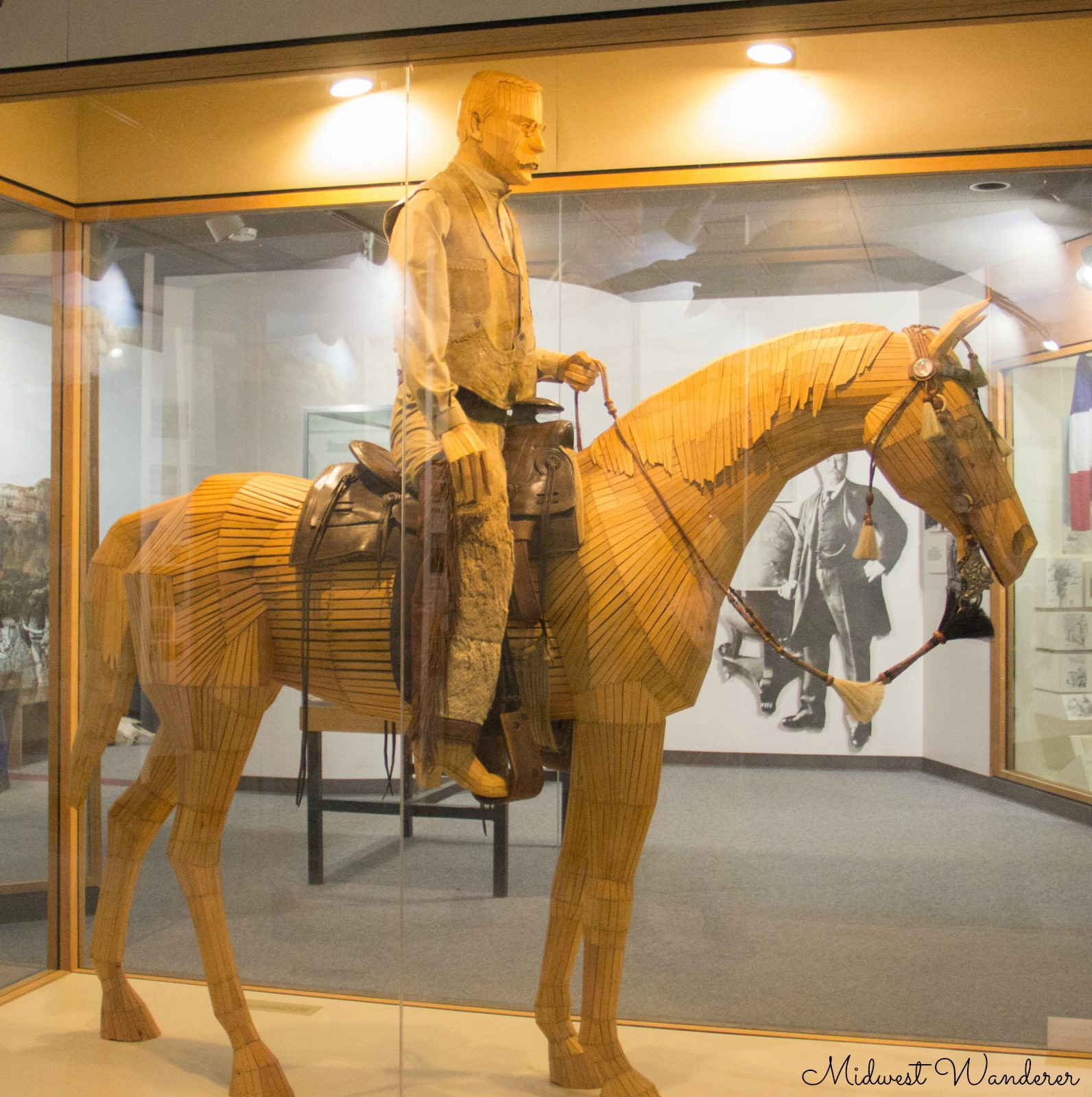 Theodore Roosevelt sculpture