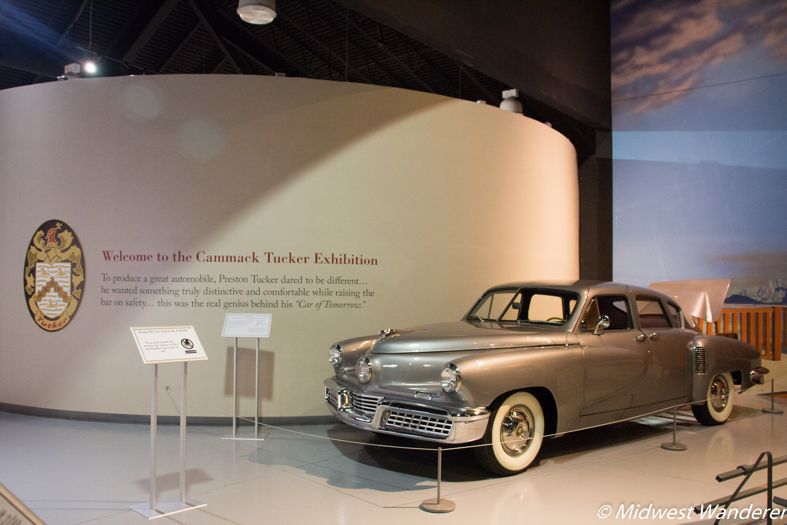 1948 Tucker #1022 at the AACA Museum