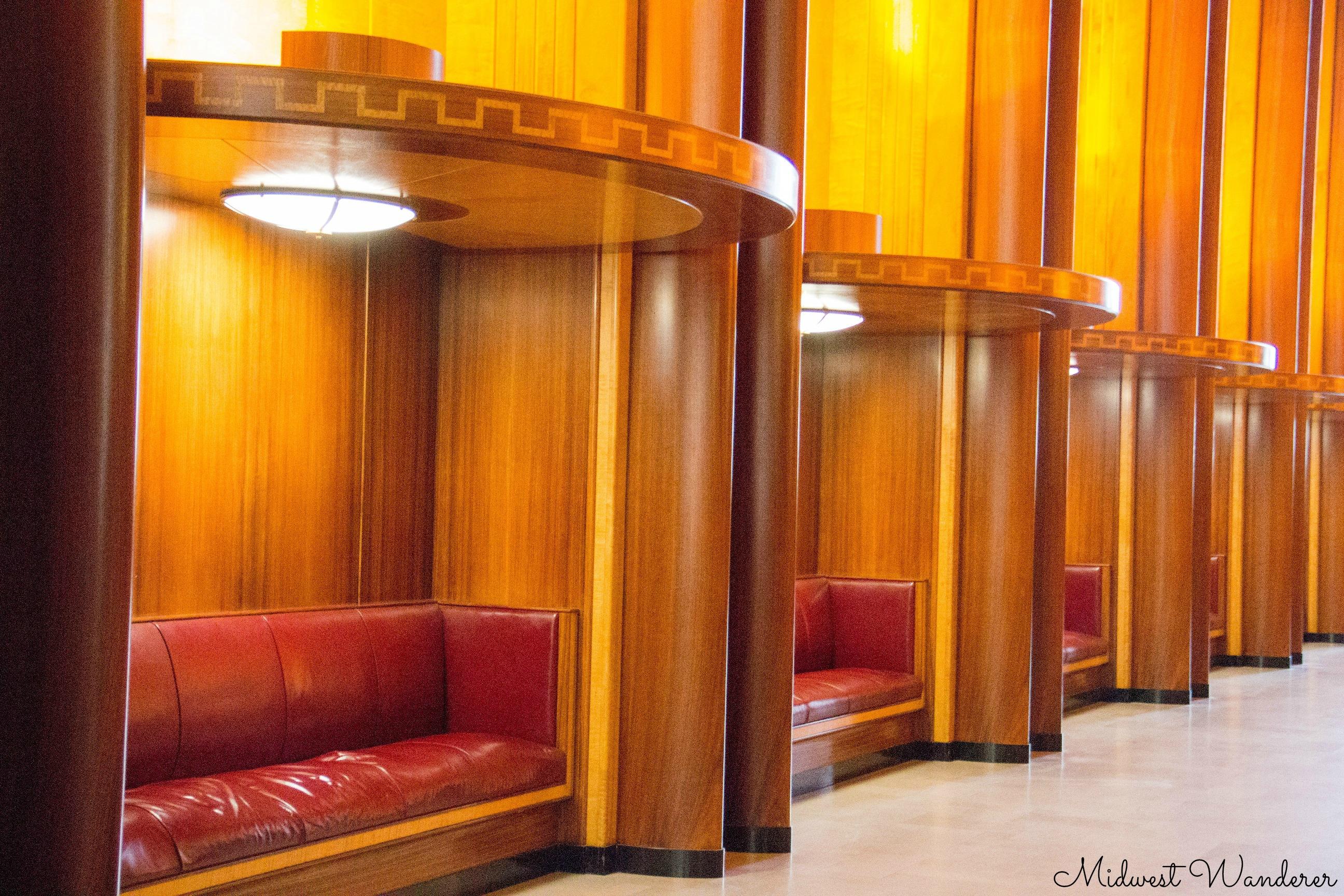 Alcoves in Legislative Hall