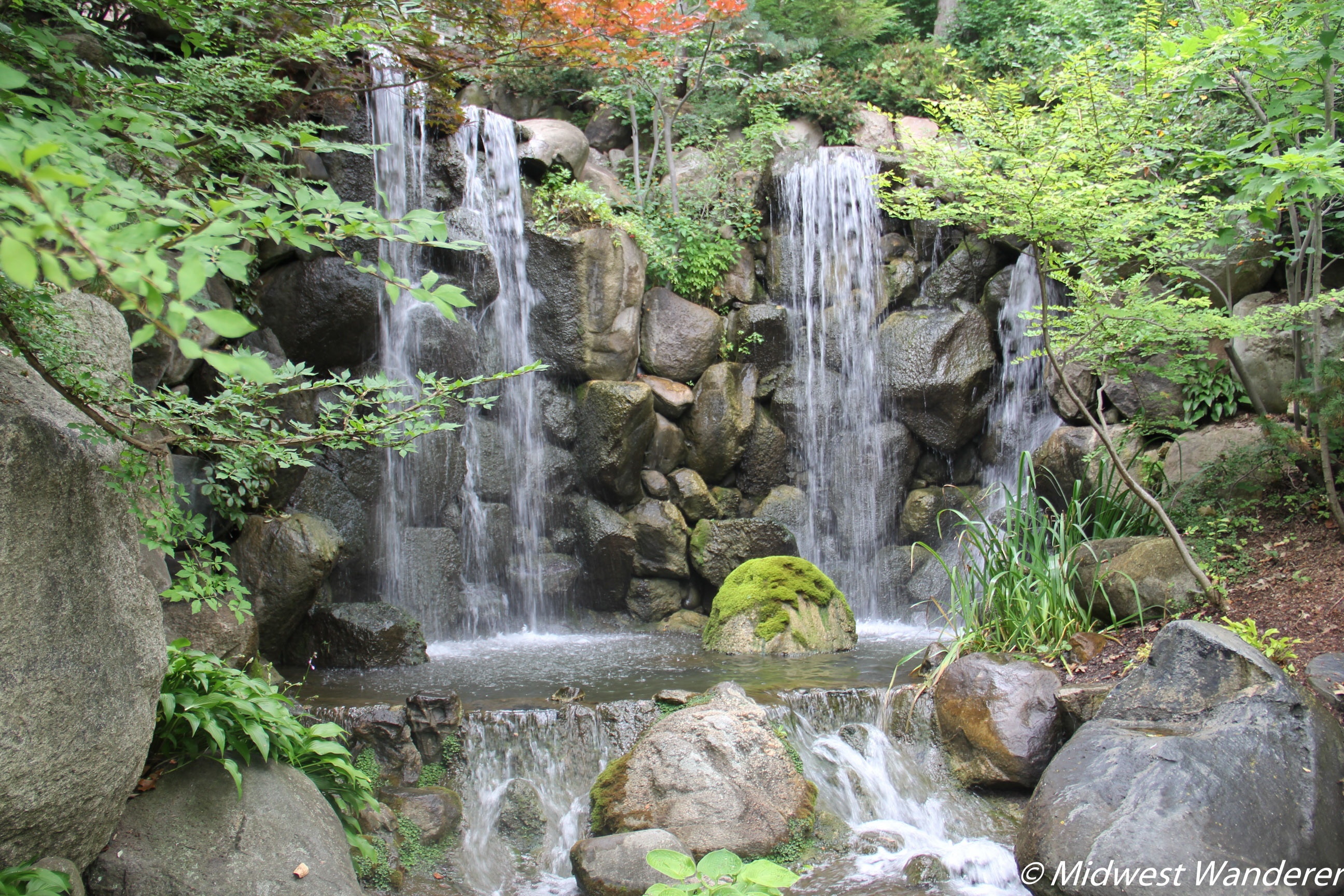 Anderson Japanese Gardens - Falls and Pool