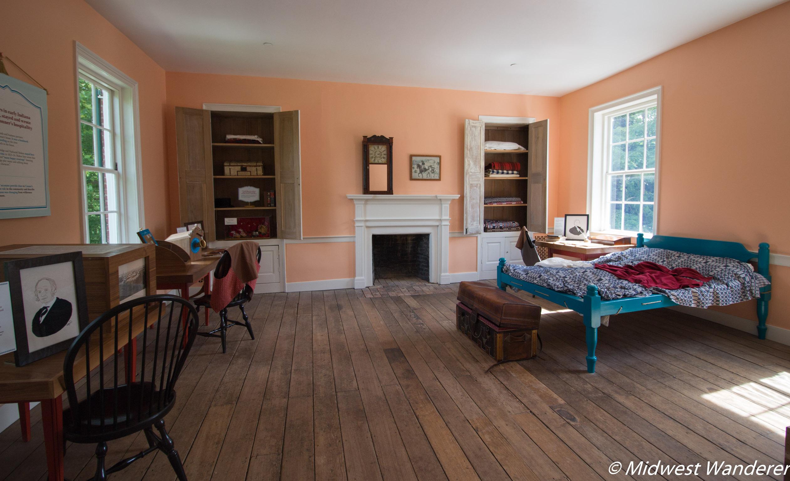Conner Prairie House - Bedroom One Full