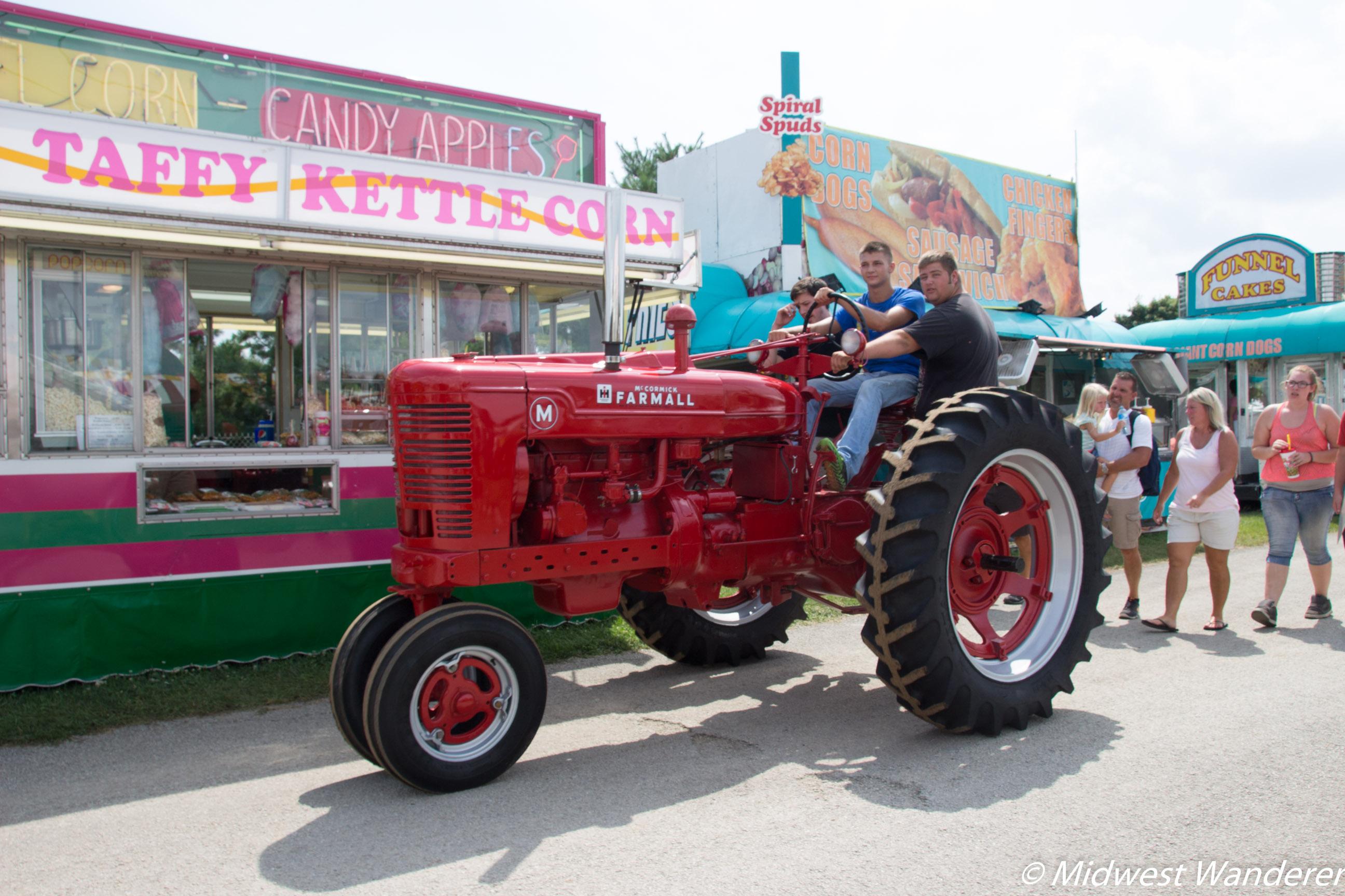 Elkhart County Fair - tractor