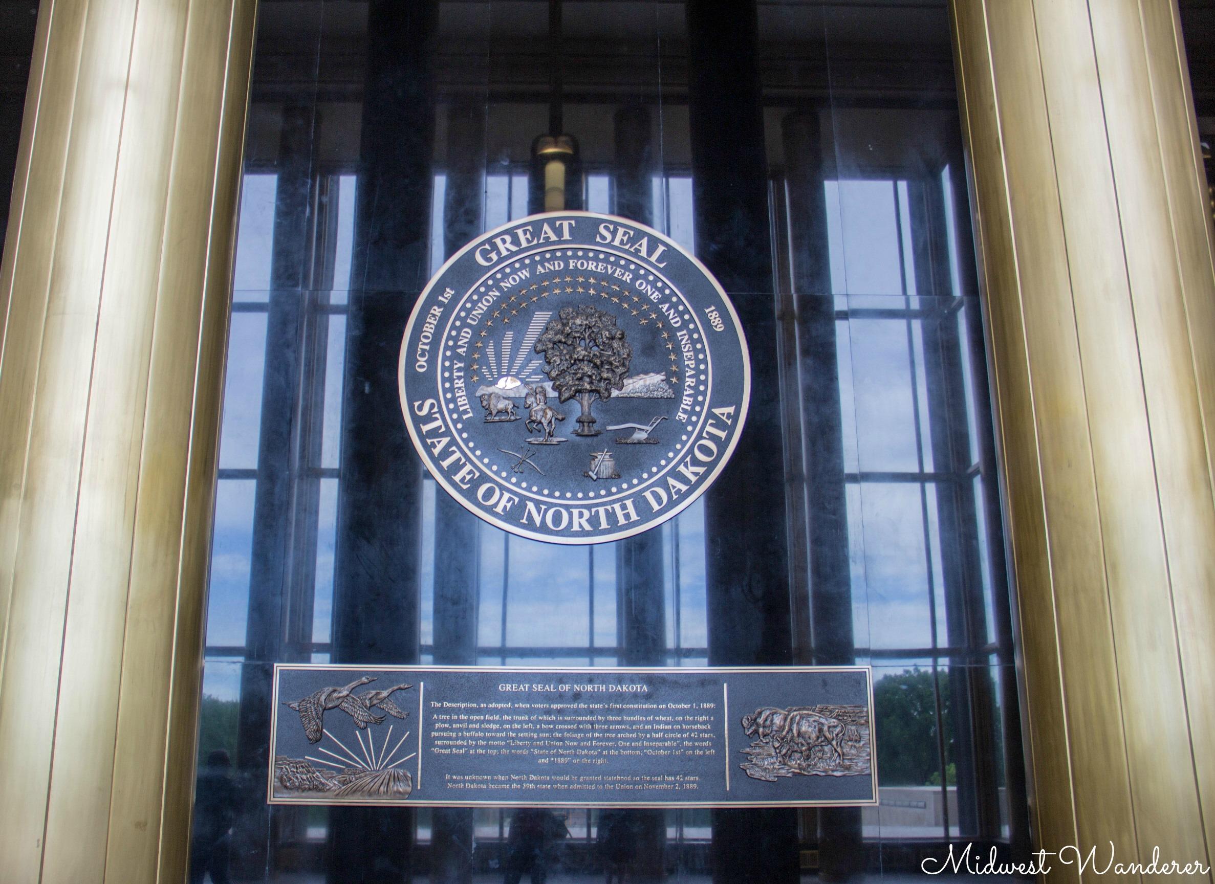 Great Seal - State of North Dakota