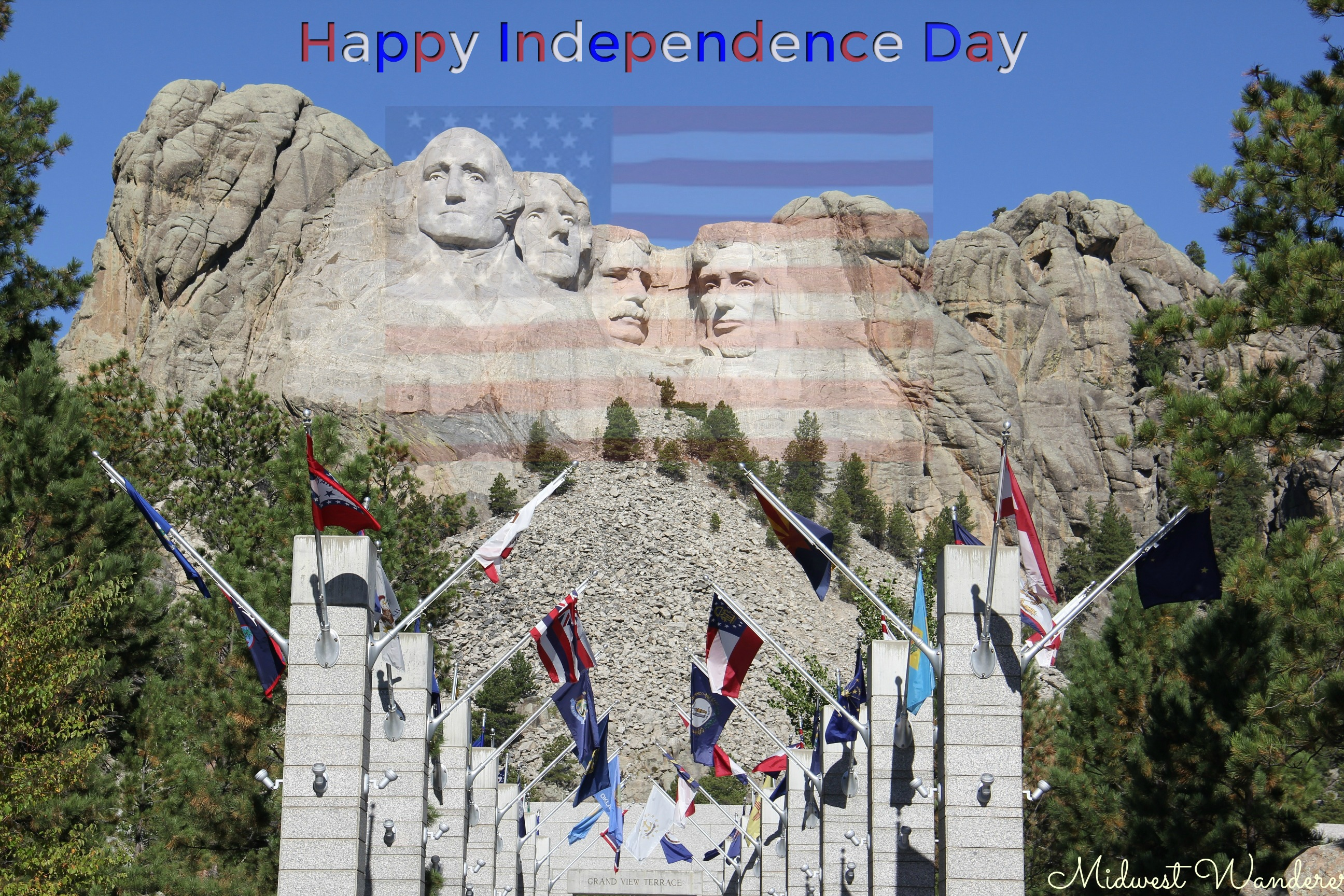 Mount Rushmore - Independence Day