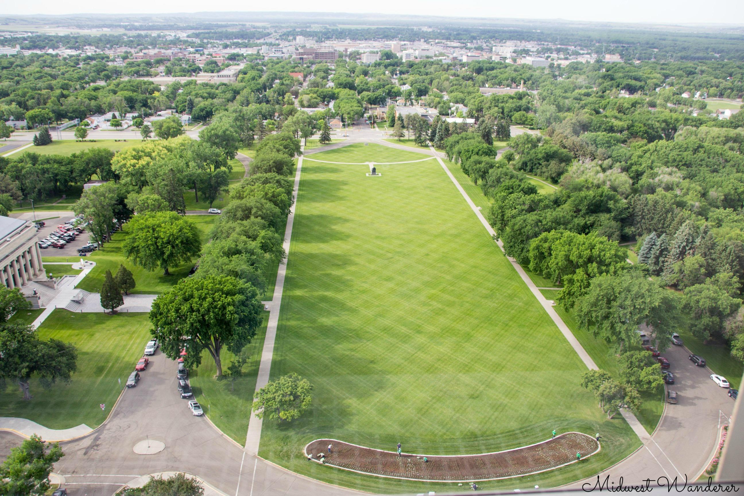 North Dakota capitol grounds