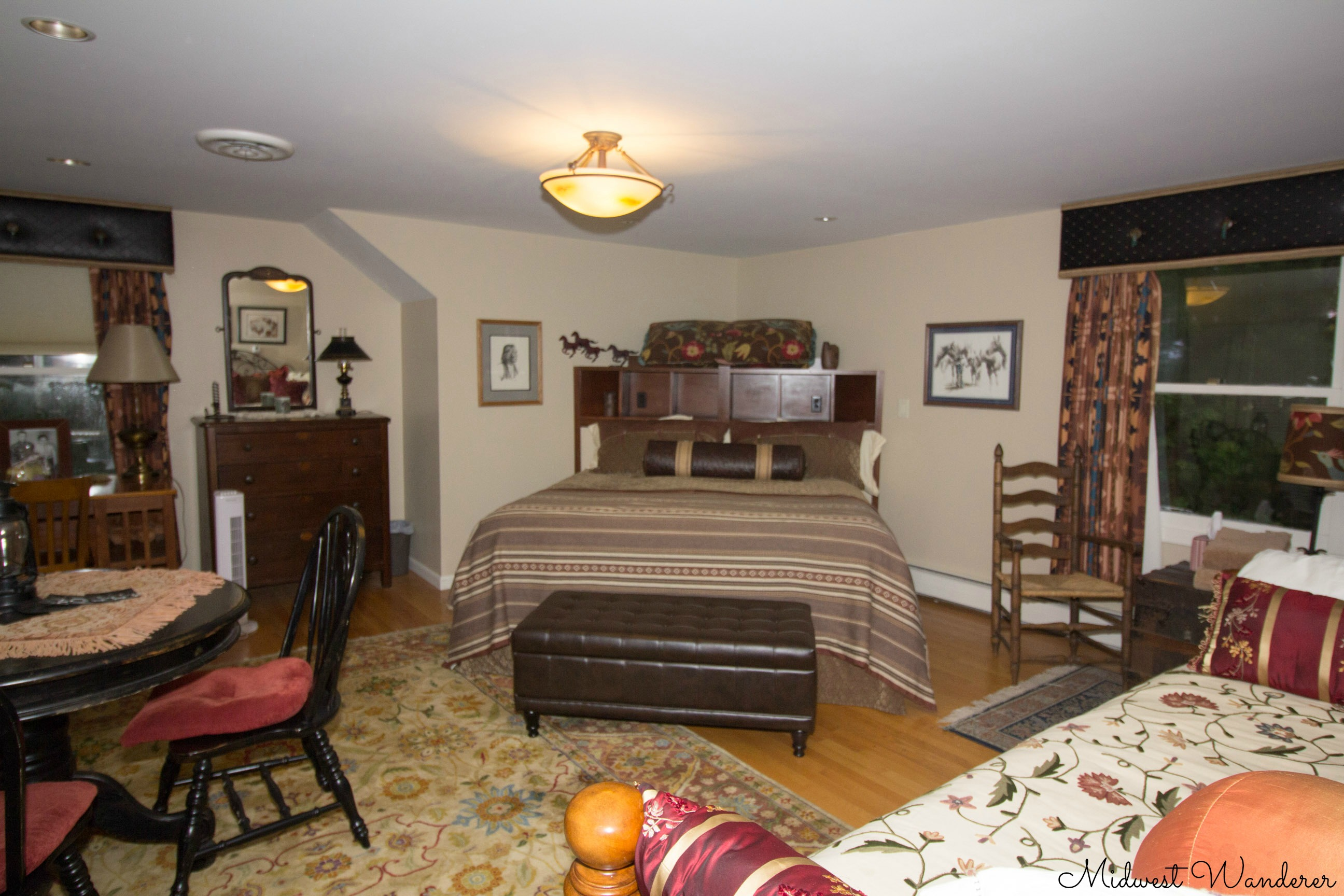 Richmond IN Seldom Scene Meadow B&B guest room