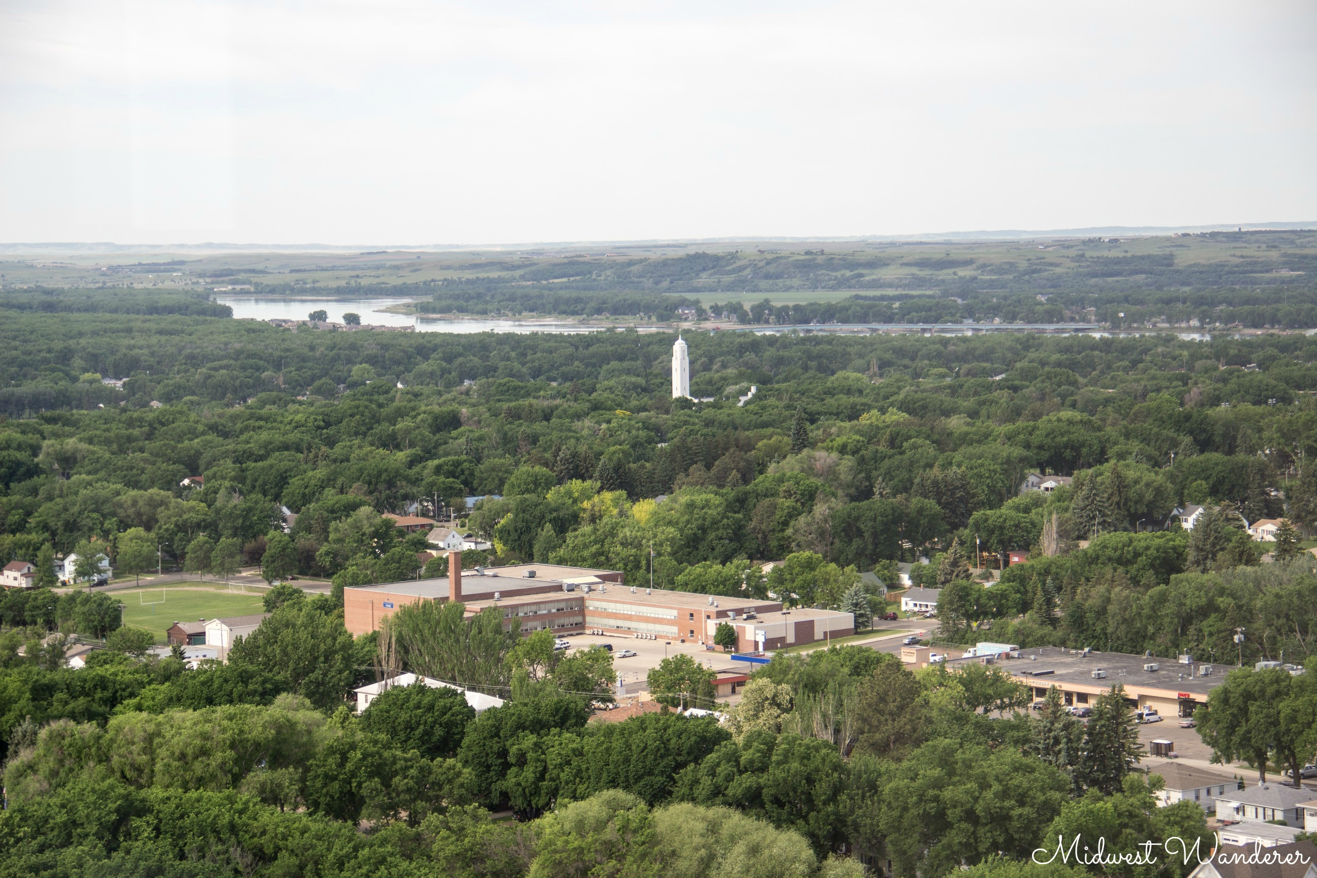 View from observation deck