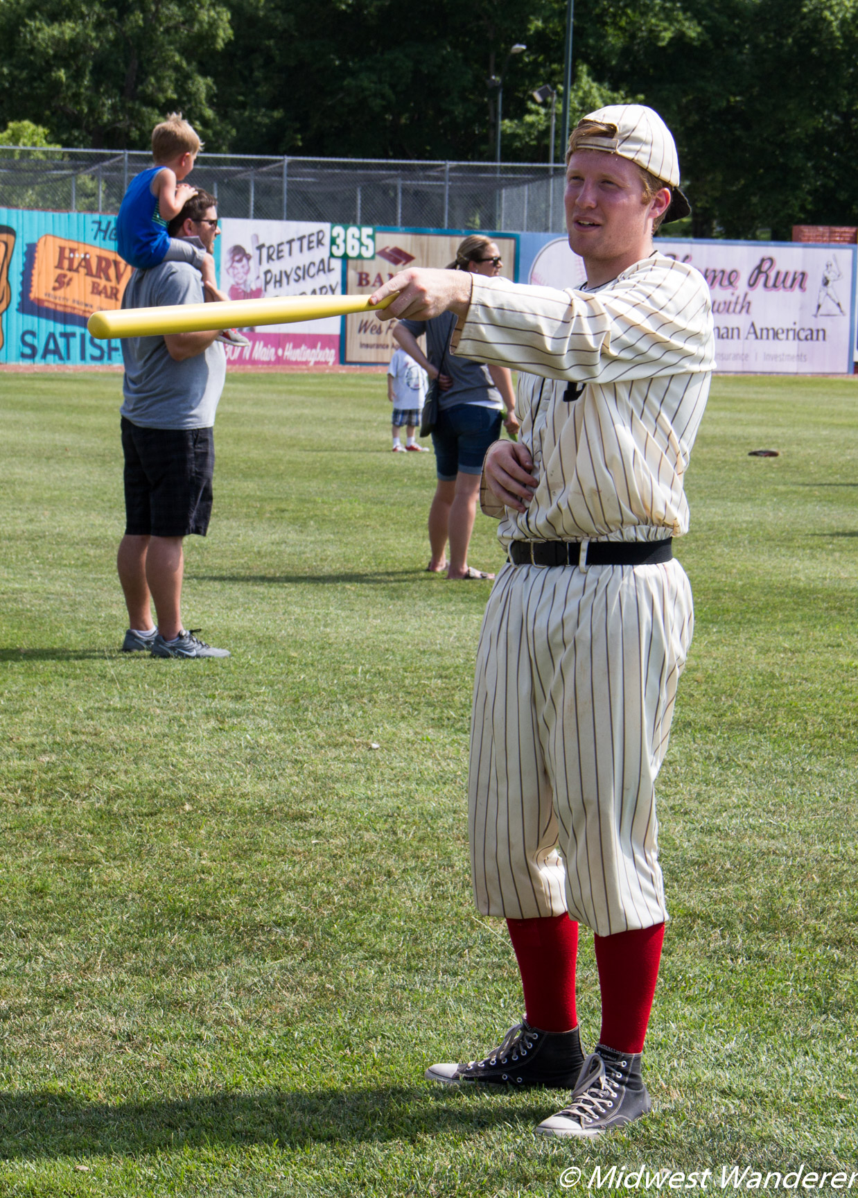 Vintage baseball uniform