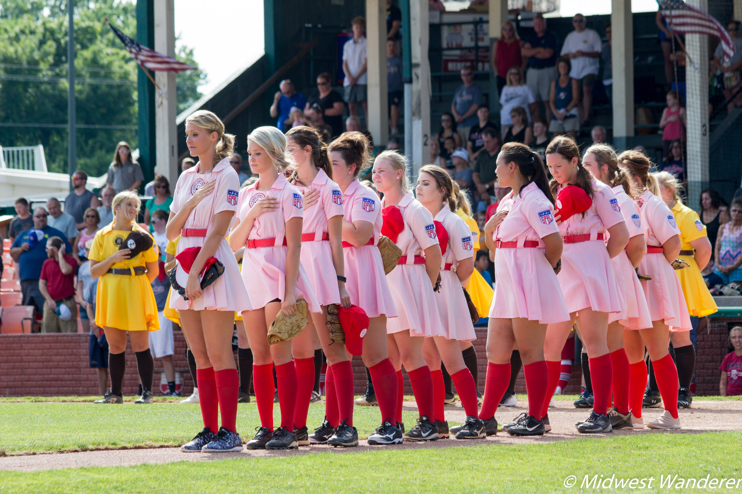 Rockford Peaches vs Racine Bells rematch
