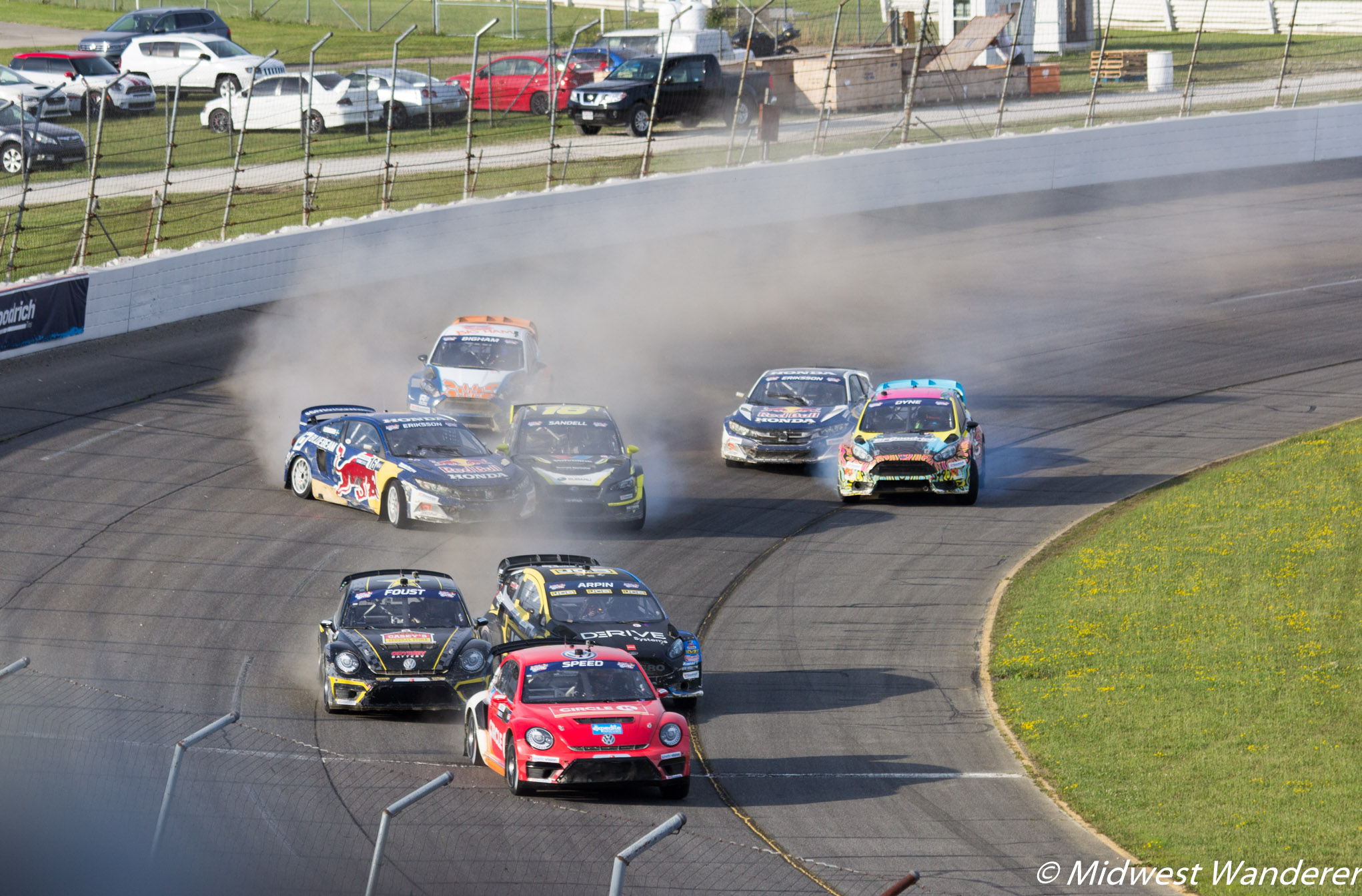 Lucas Oil Raceway - Red Bull Global RallyCross - 5