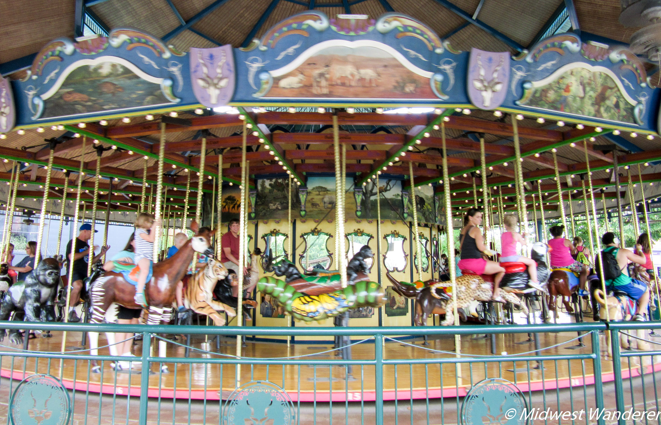 St Louis Zoo - Conservation Carousel