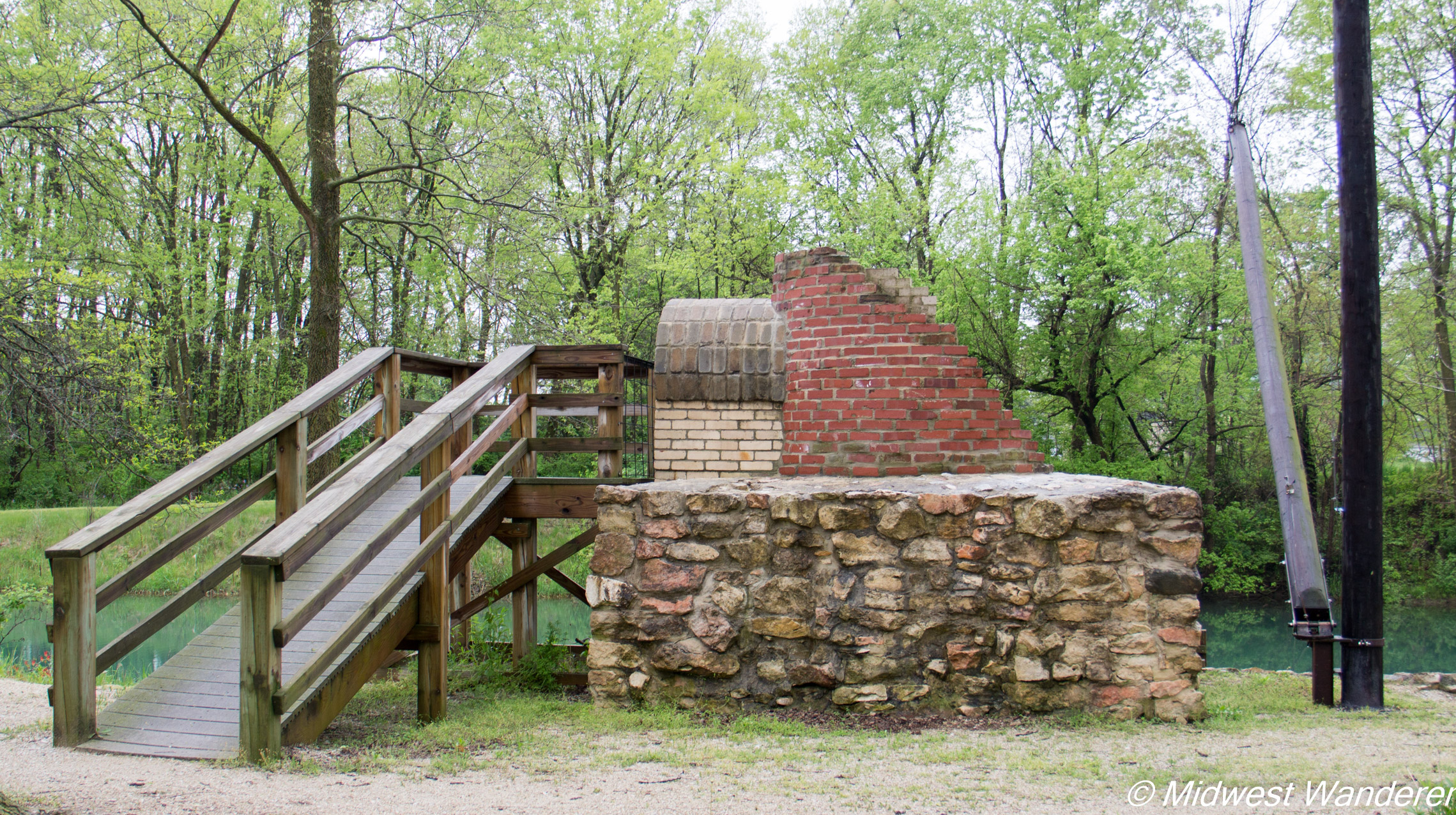 Wabash and Erie Canal kiln - 1