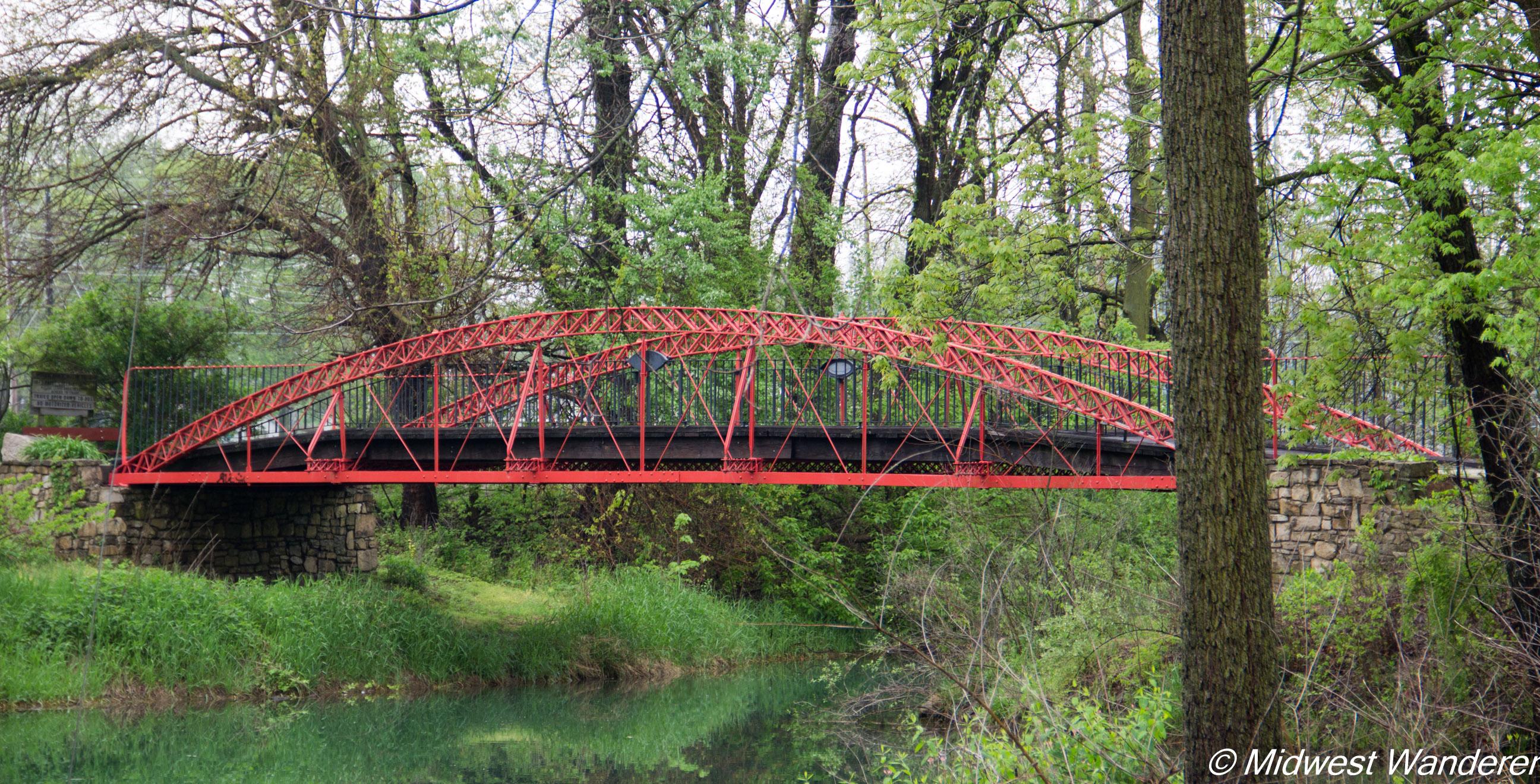Wabash and Erie Canal 1873 bridge