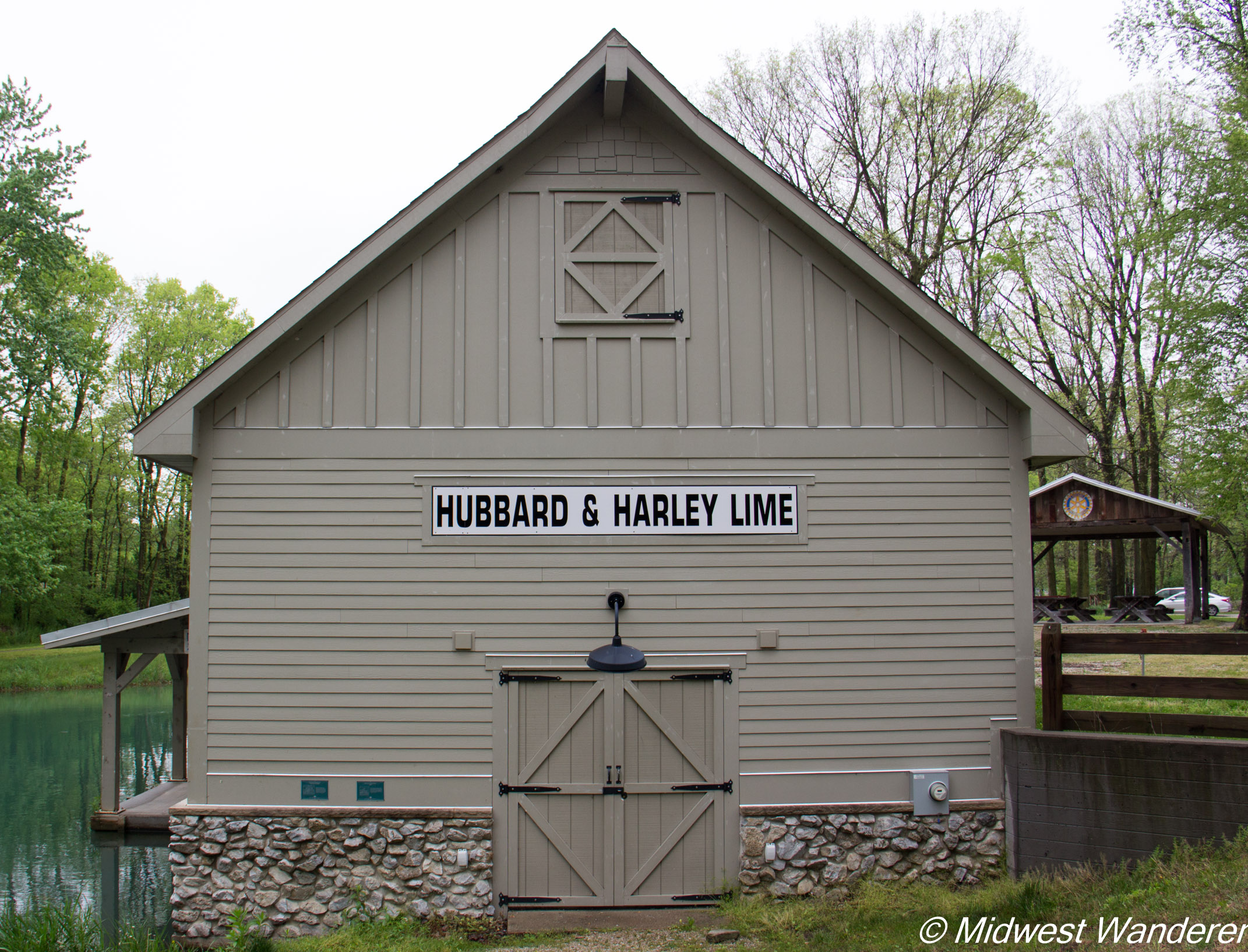 Wabash and Erie Canal boathouse