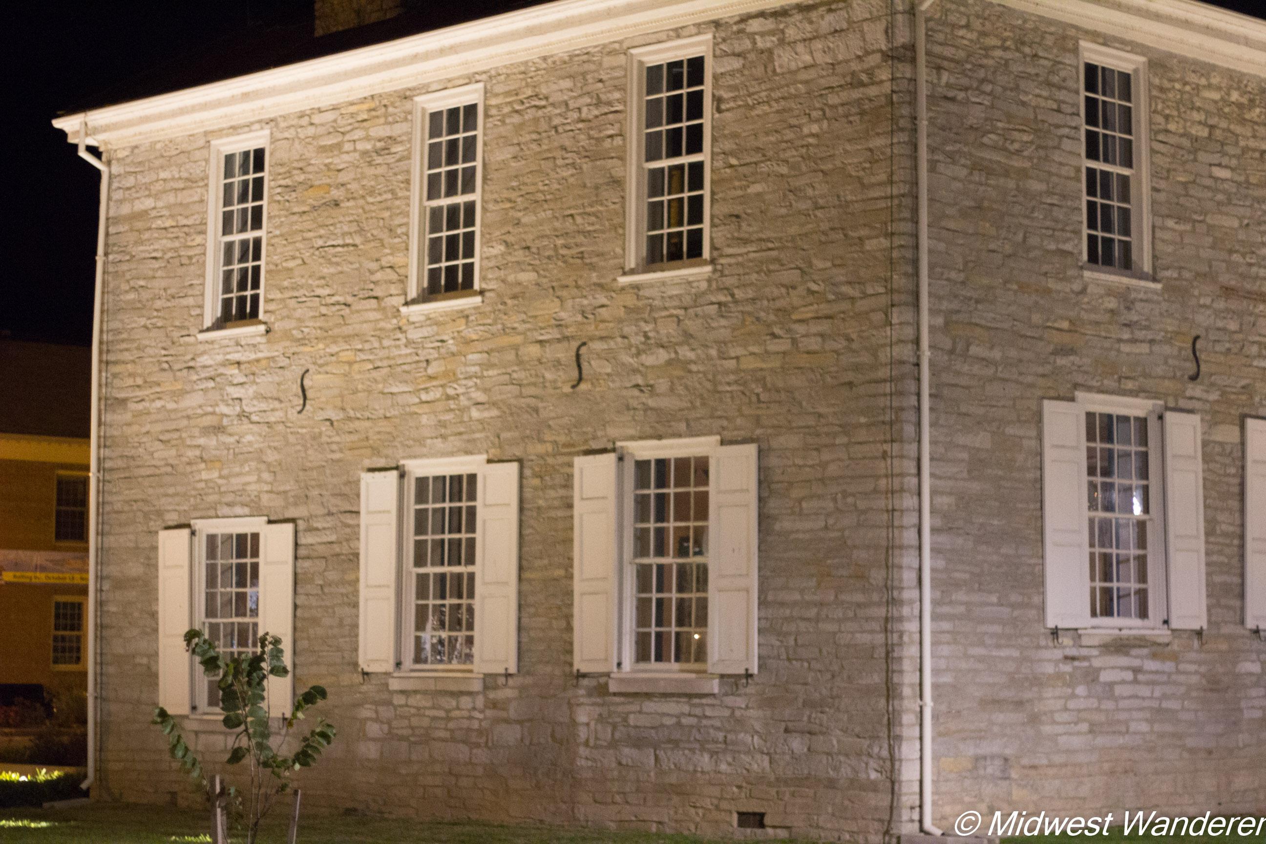 Corydon Capitol made of limestone