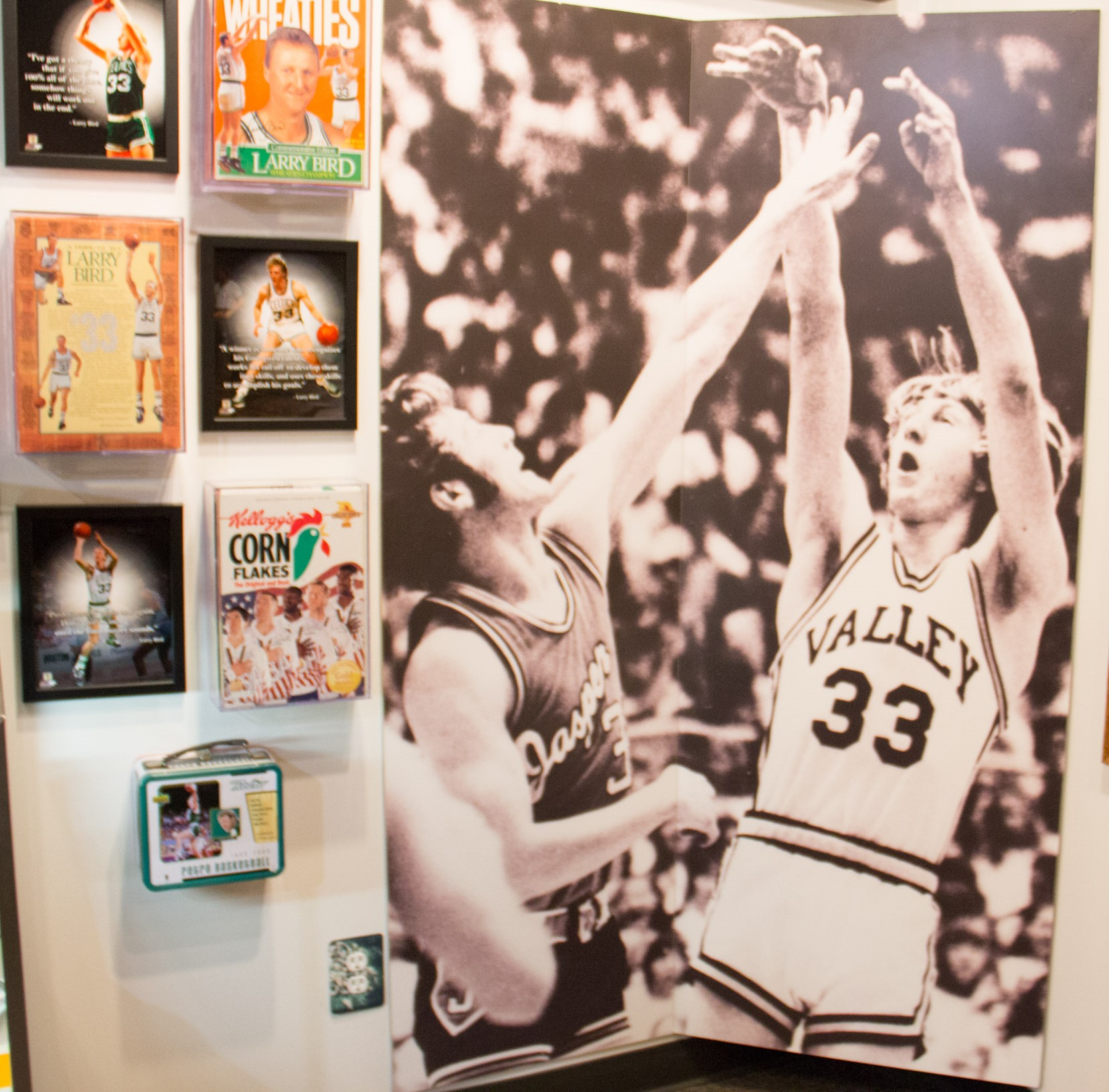 French Lick West Baden Museum - Larry Bird Exhibit