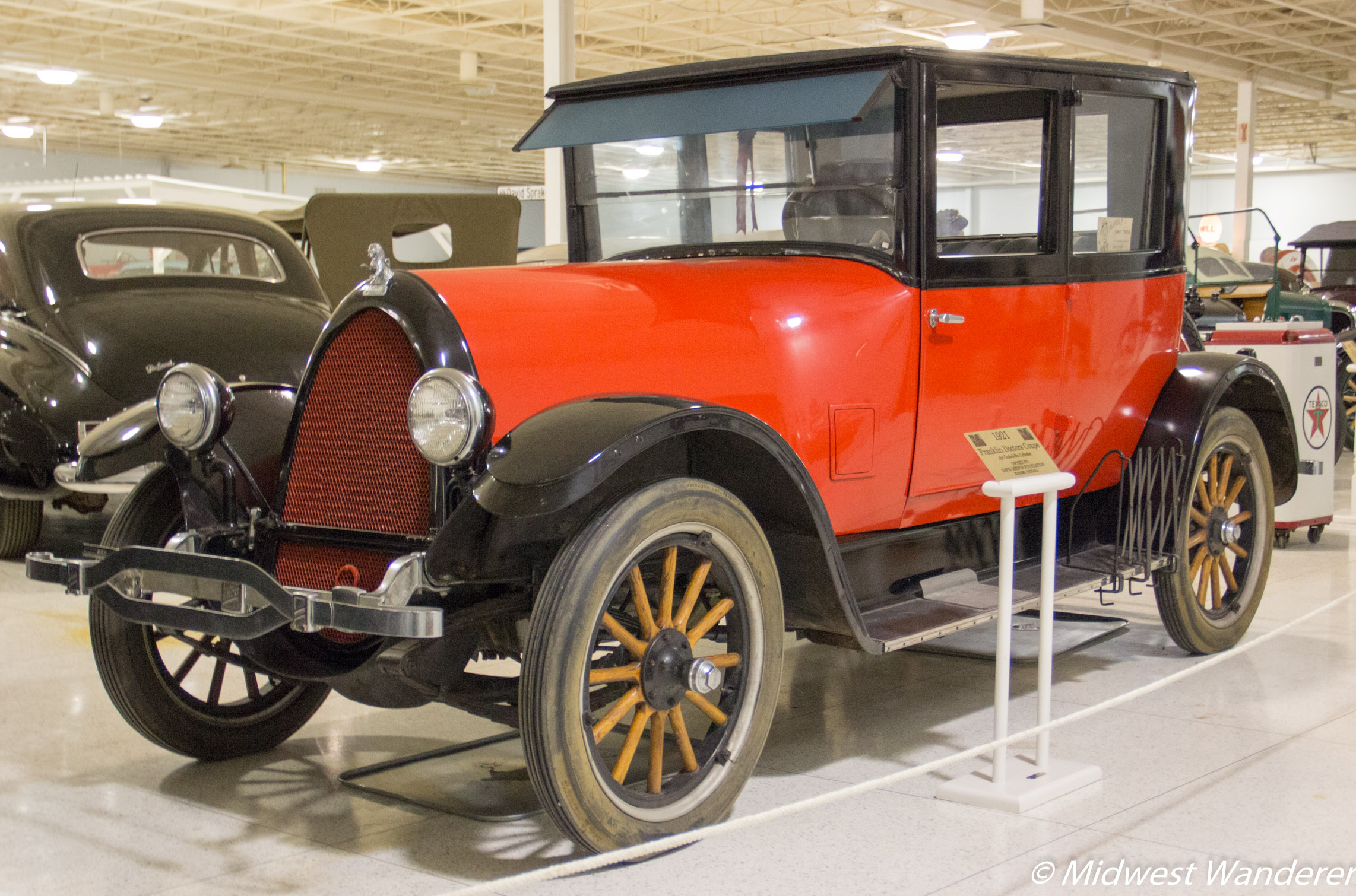 1921 Franklin Doctors Coupe