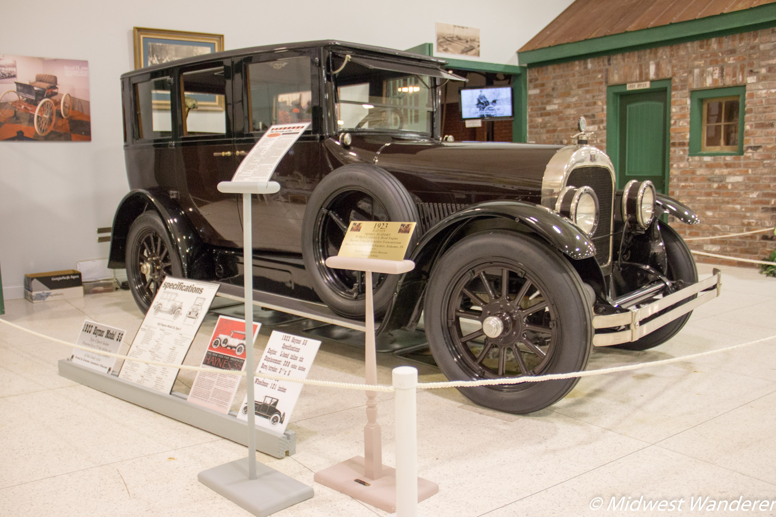 1923 Haynes Model 55 Sport, Kokomo Automotive Museum