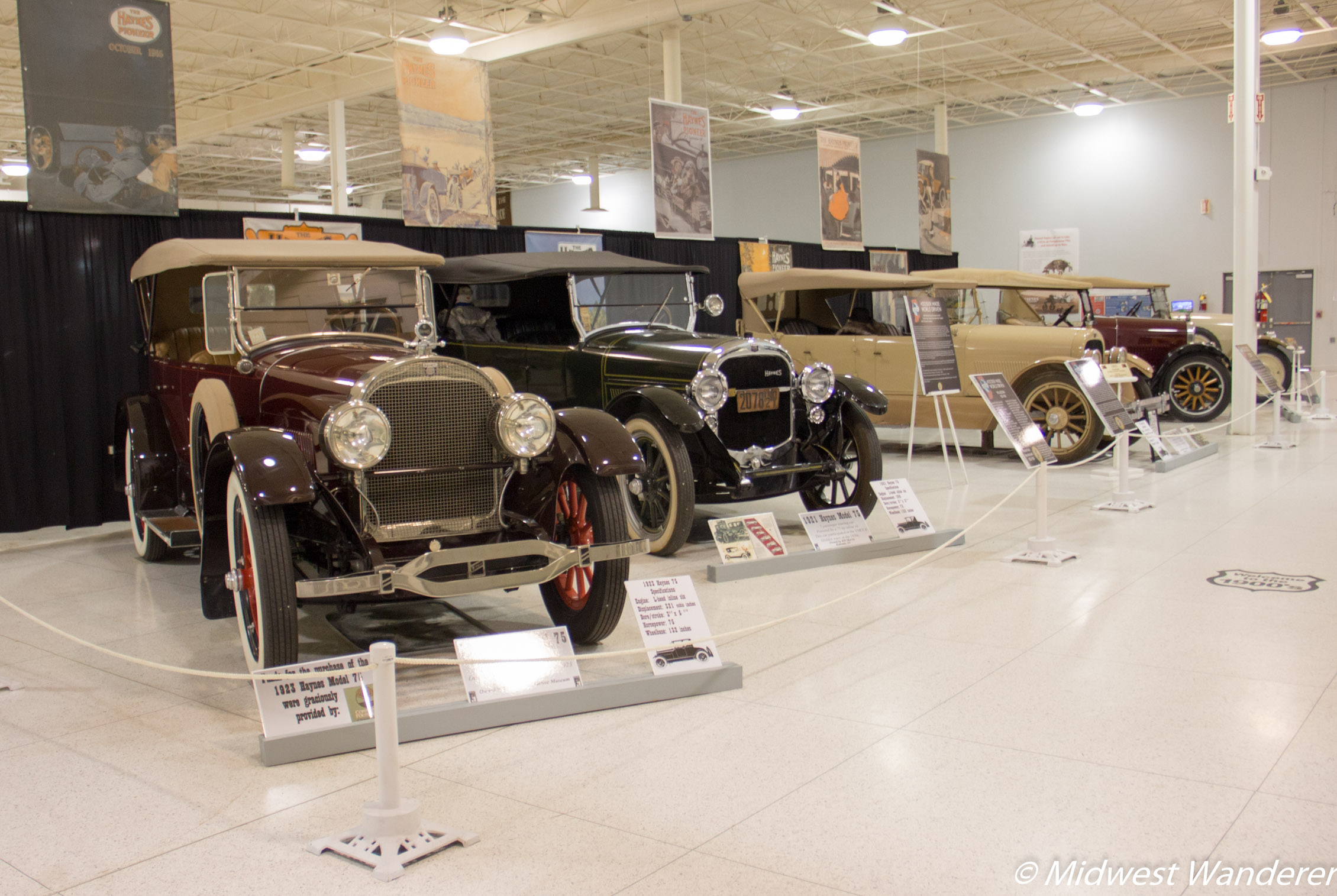 "Haynes automobiles from the ""Roaring 20s"""