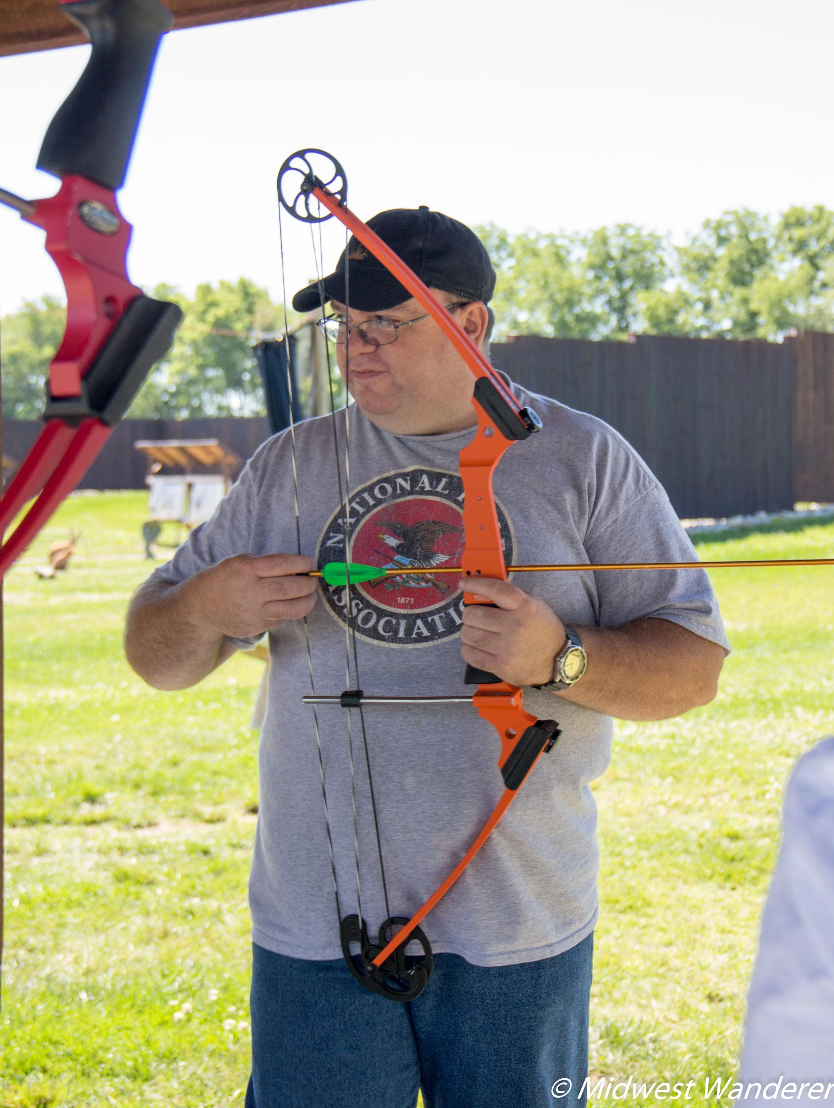 Koteewi Archery Range - orientation