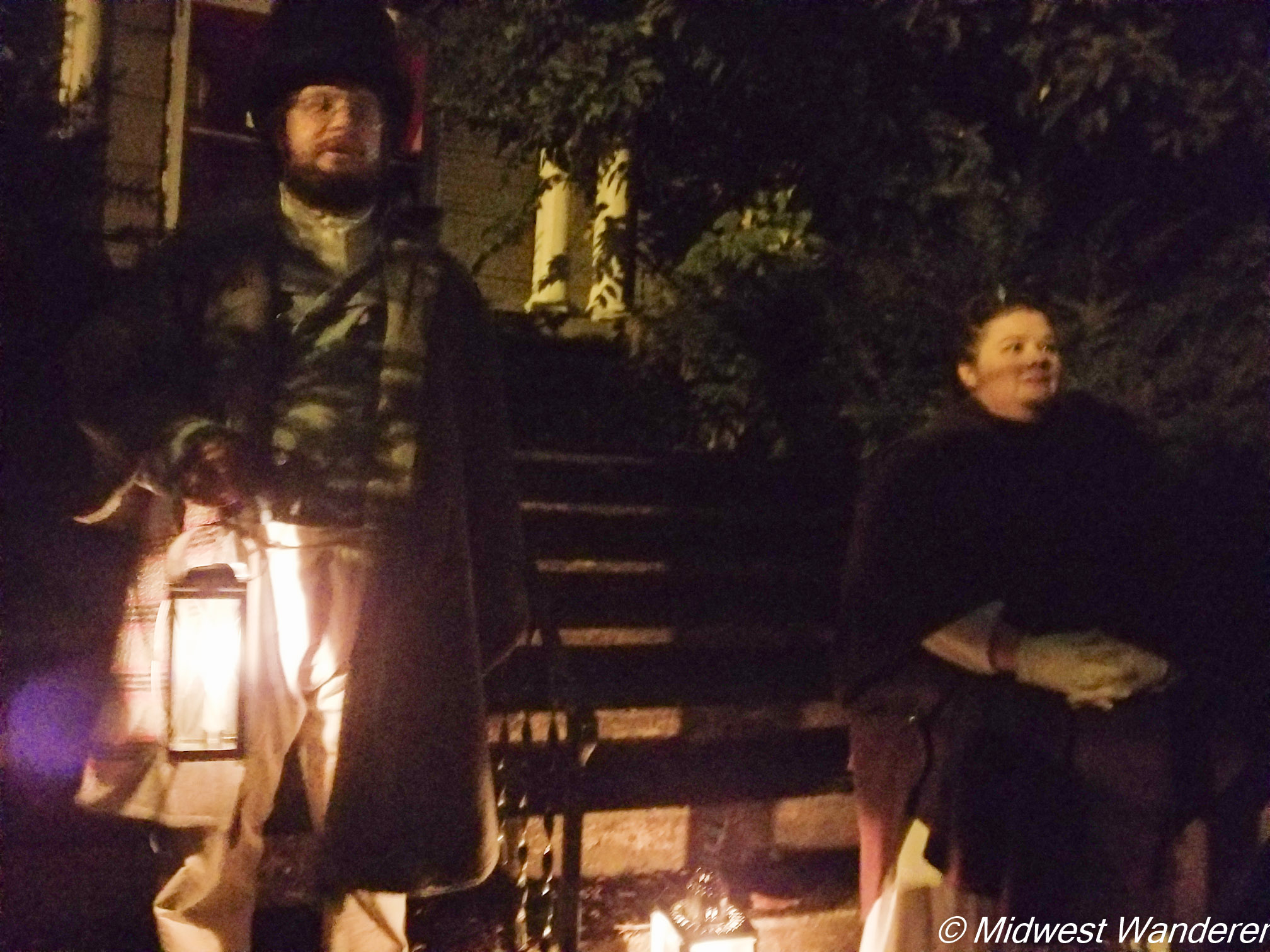 Real Haunted Happenings Tour guides
