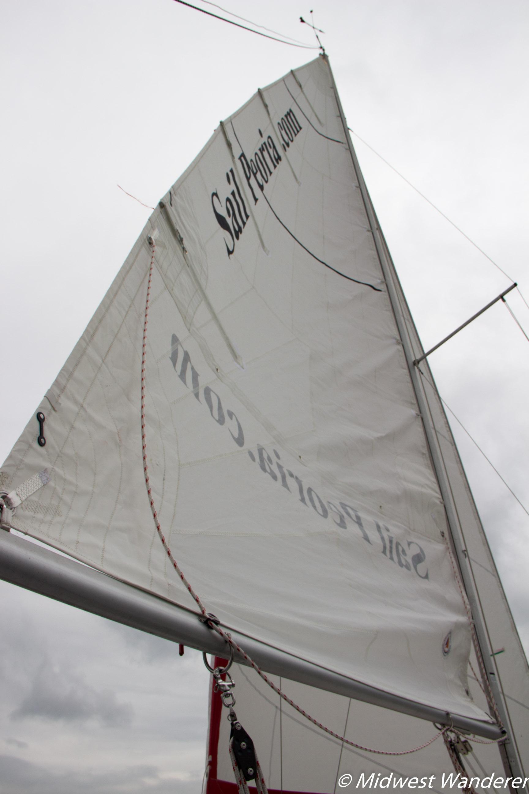 Sail Peoria sailboat sail