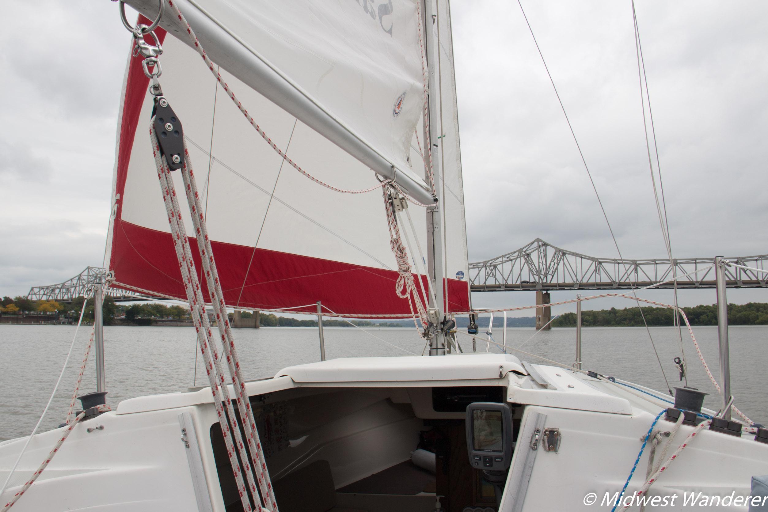 Sail Peoria sailboat