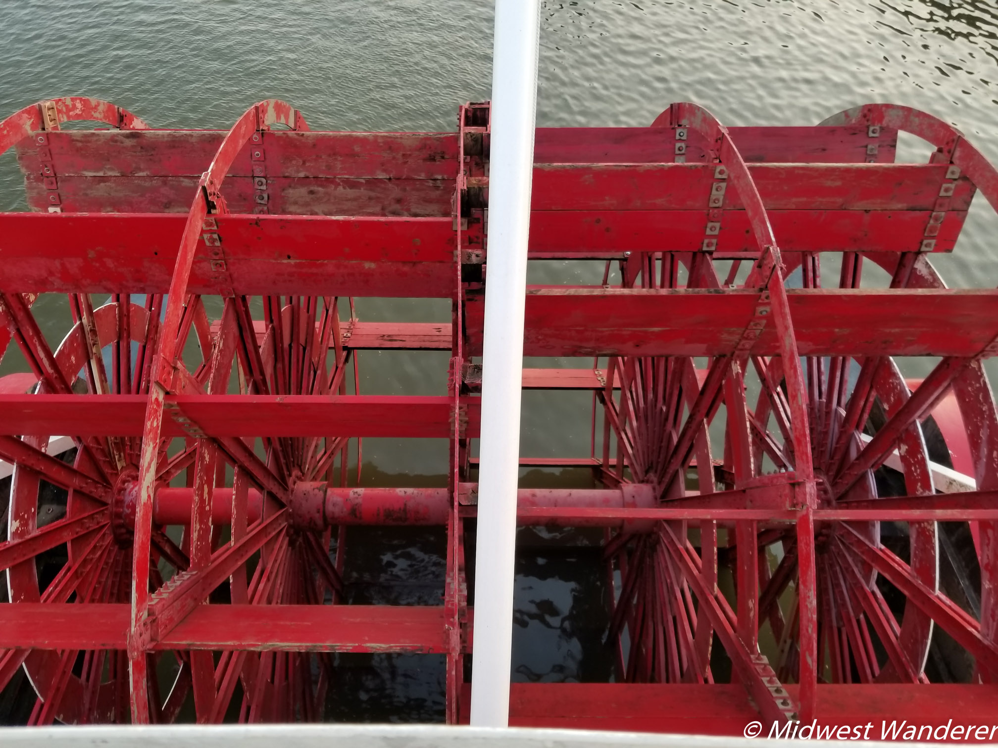 Spirit of Peoria paddlewheel