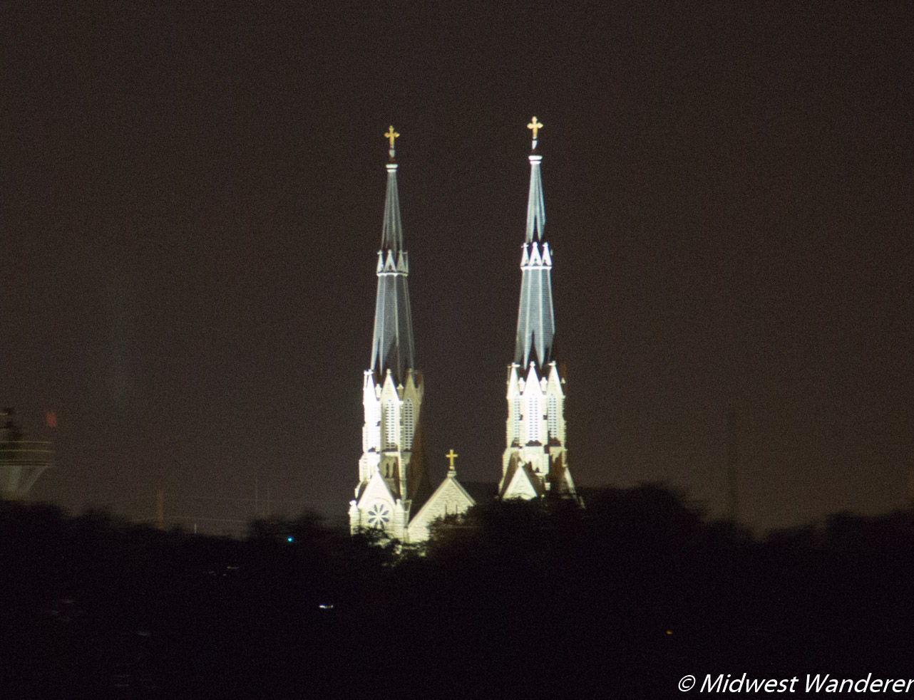 Cathedral of St Mary from the Spirit of Peoria