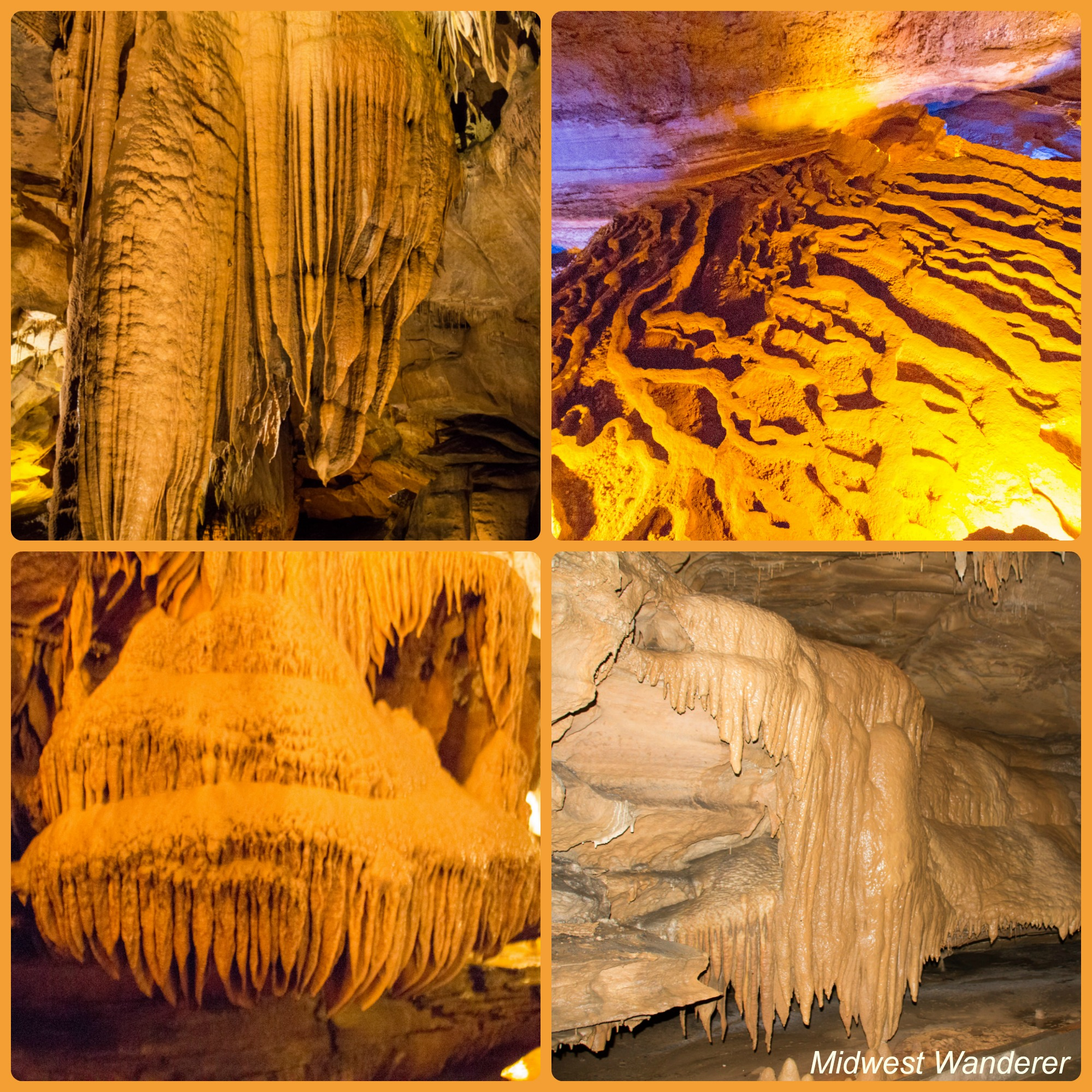 Squire Boon Caverns formations
