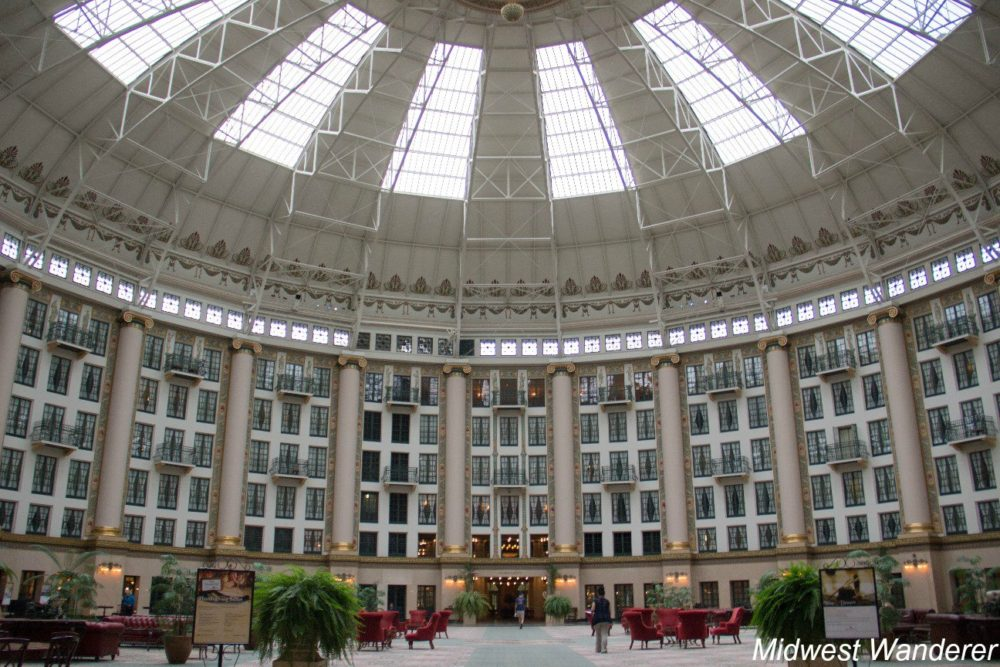 West Baden Hotel domed atrium
