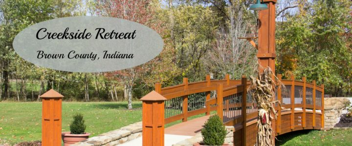 Creekside Retreat: Brown County Lodging Ideal for Everyone