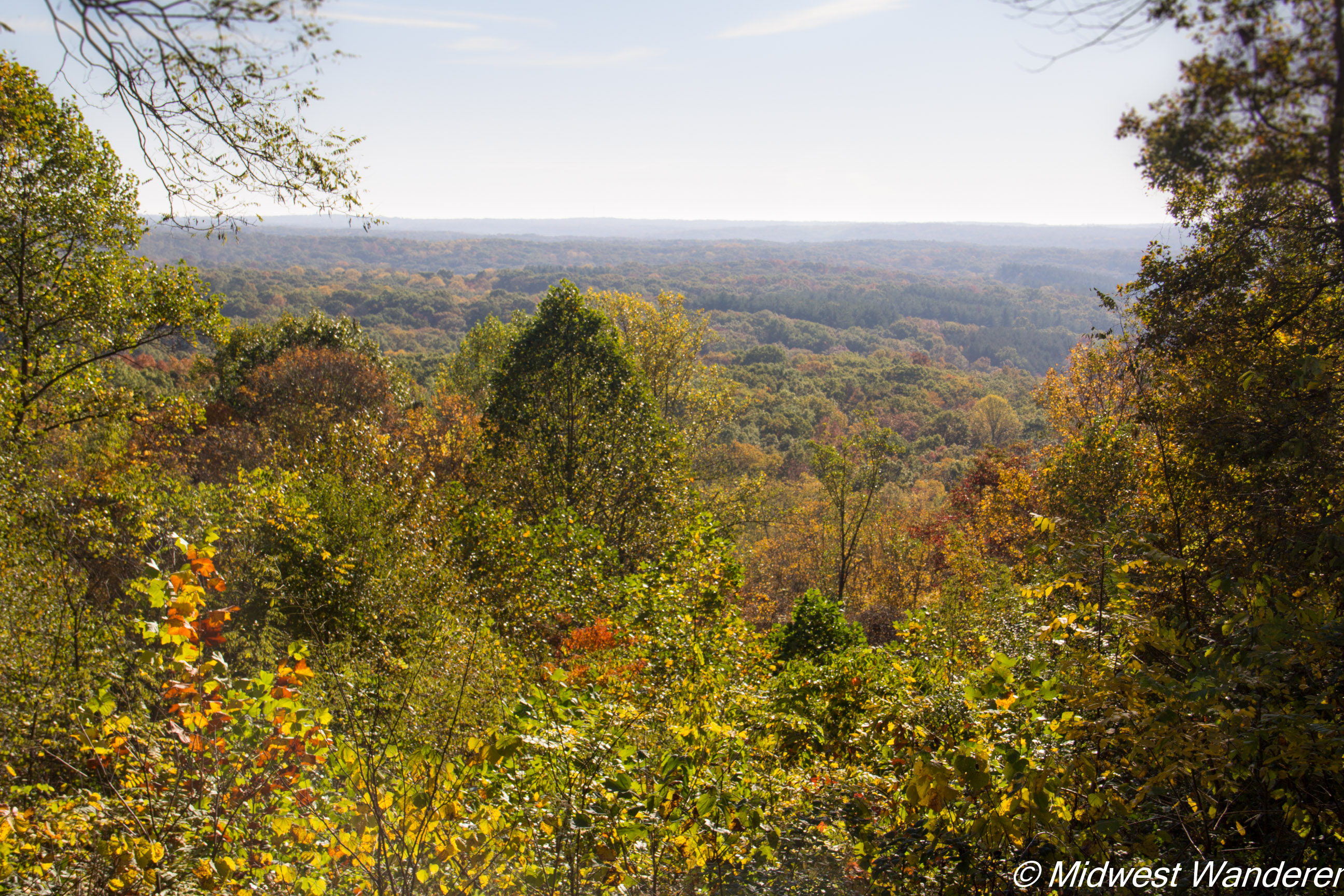 Brown County State Park - vista overlook