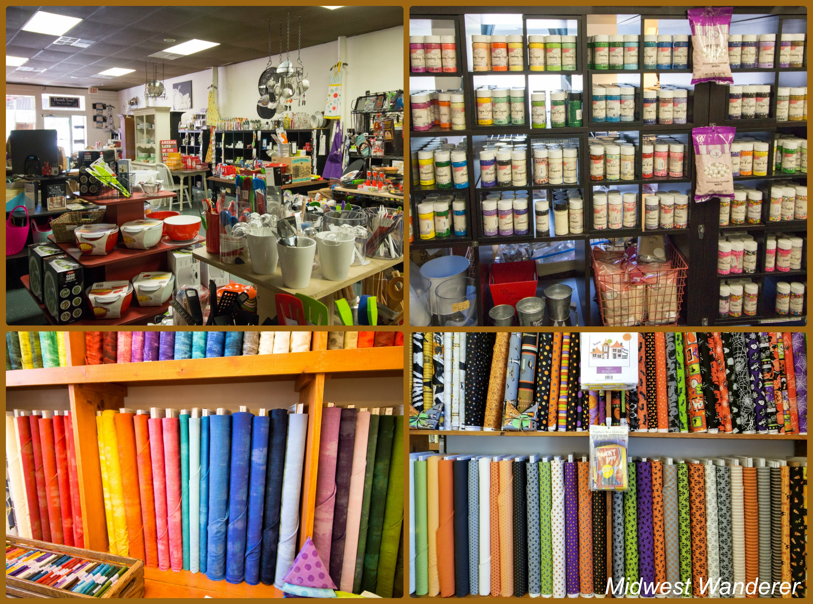 Loris Kitchen Store and Peddlers Way Quilt Co- Washington Square