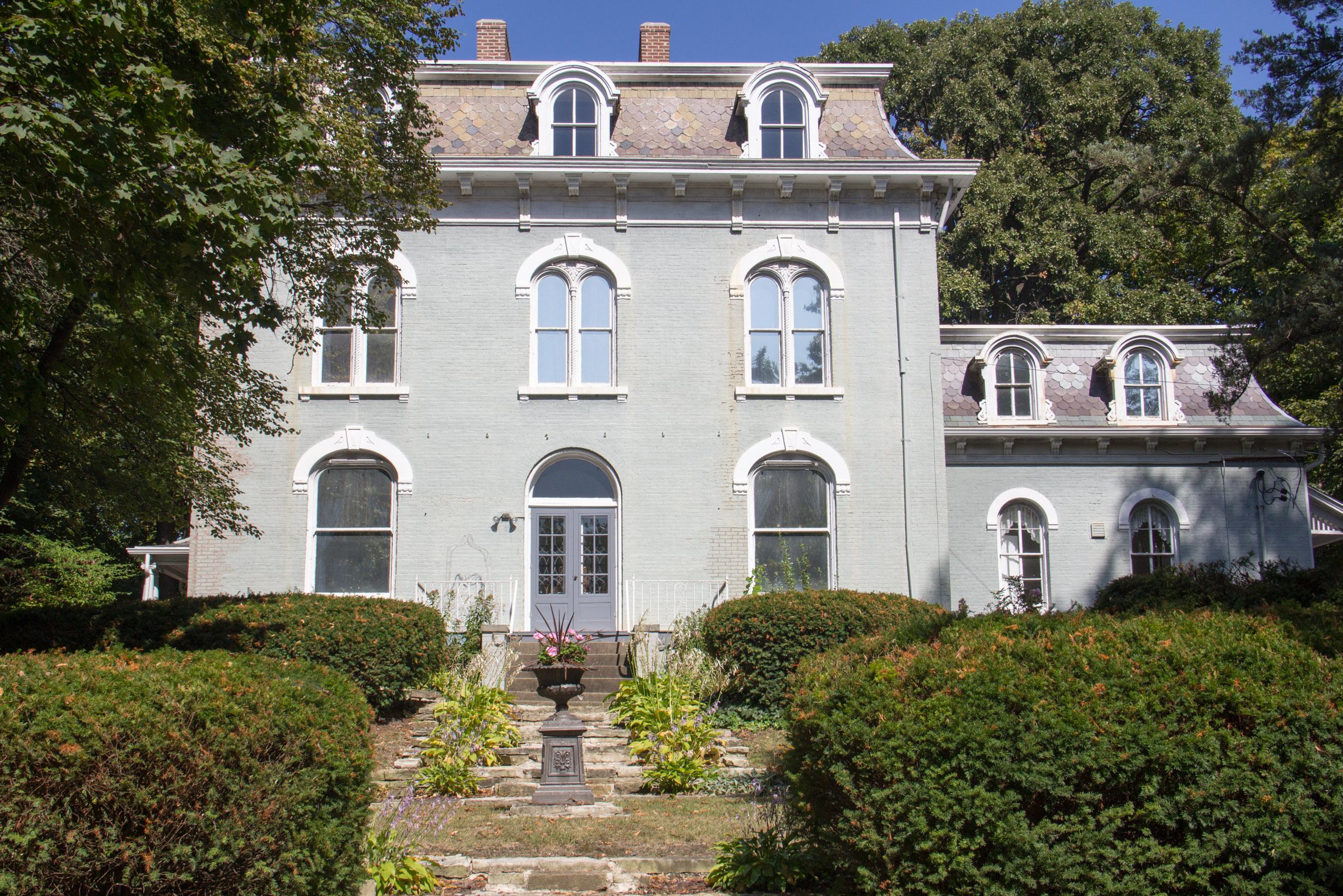 Pettengill-Morron House - garden