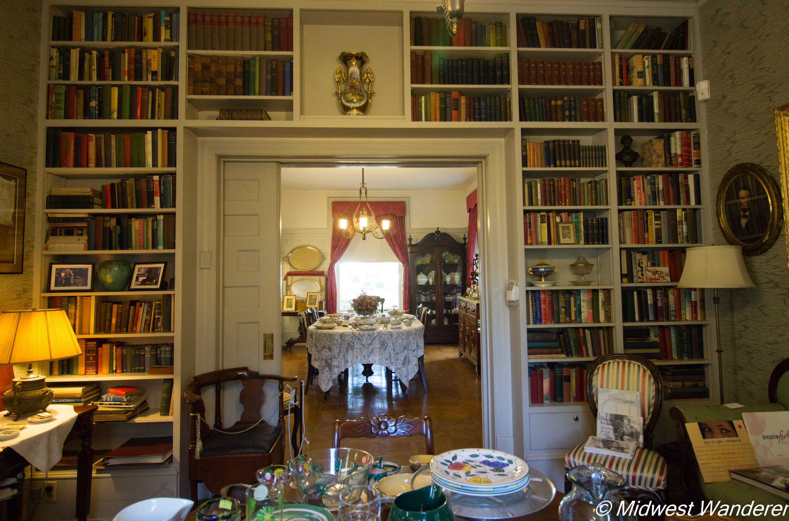 Pettengill-Morron House - library