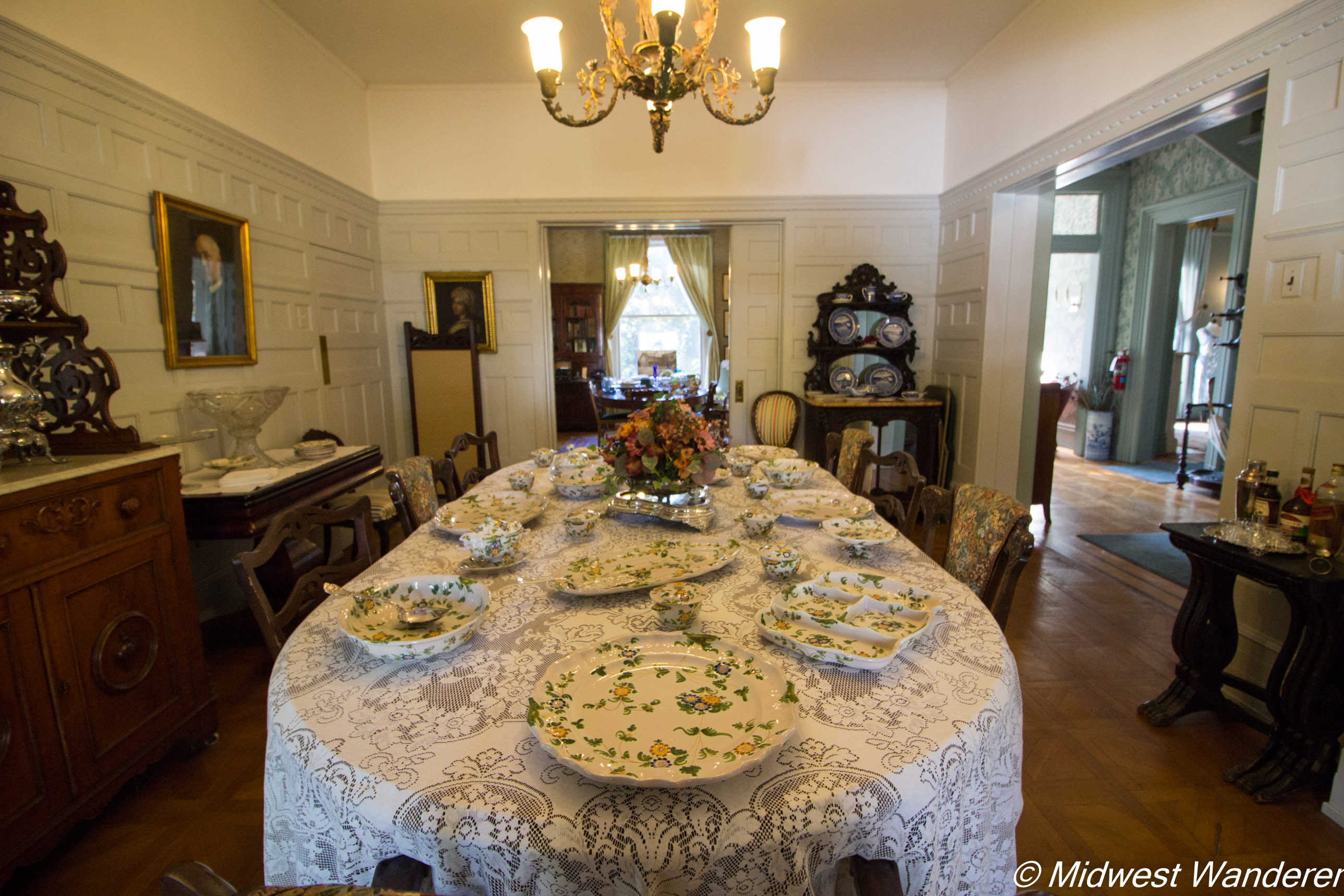 Pettengill-Morron House - dining room