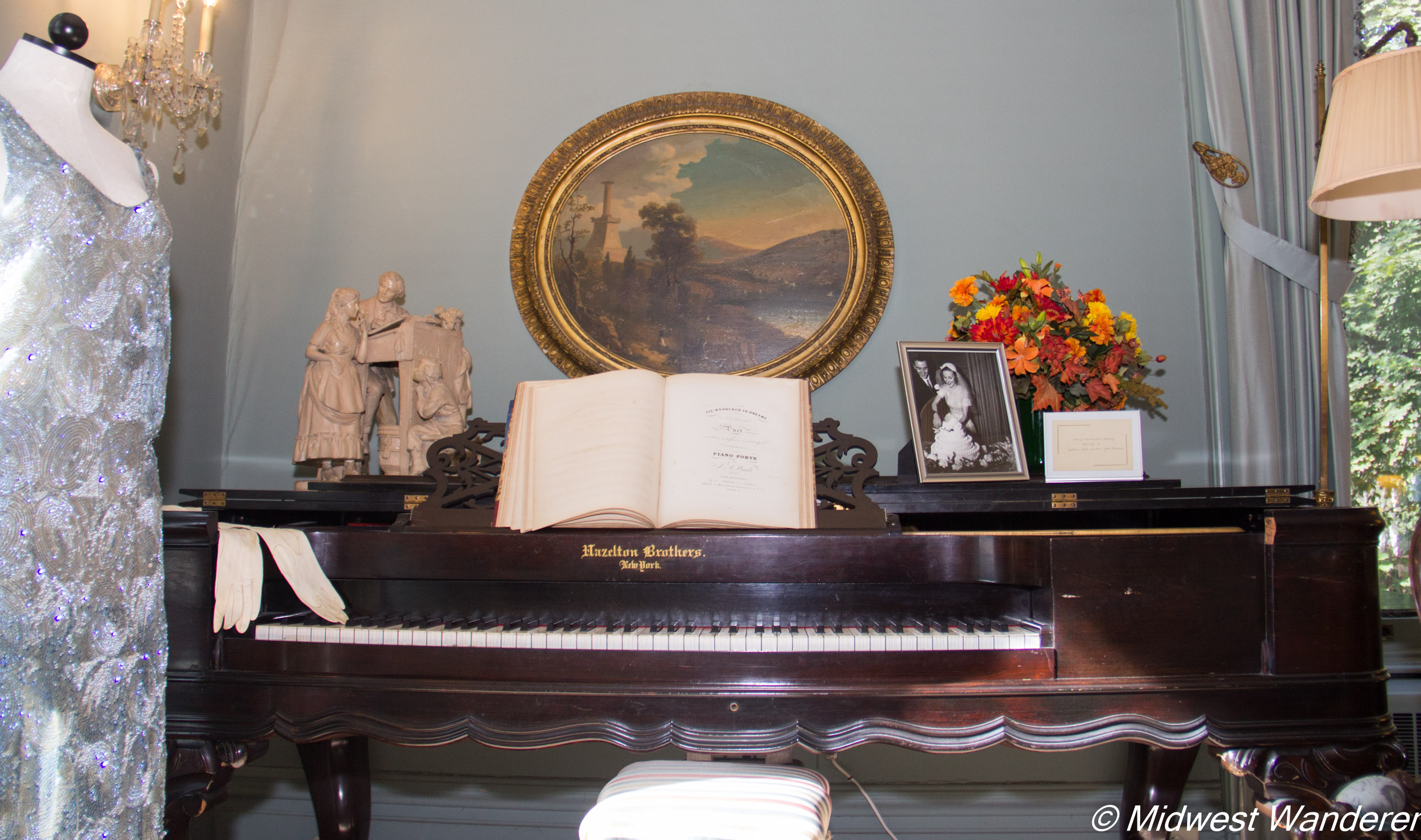 Pettengill-Morron House - coffin piano