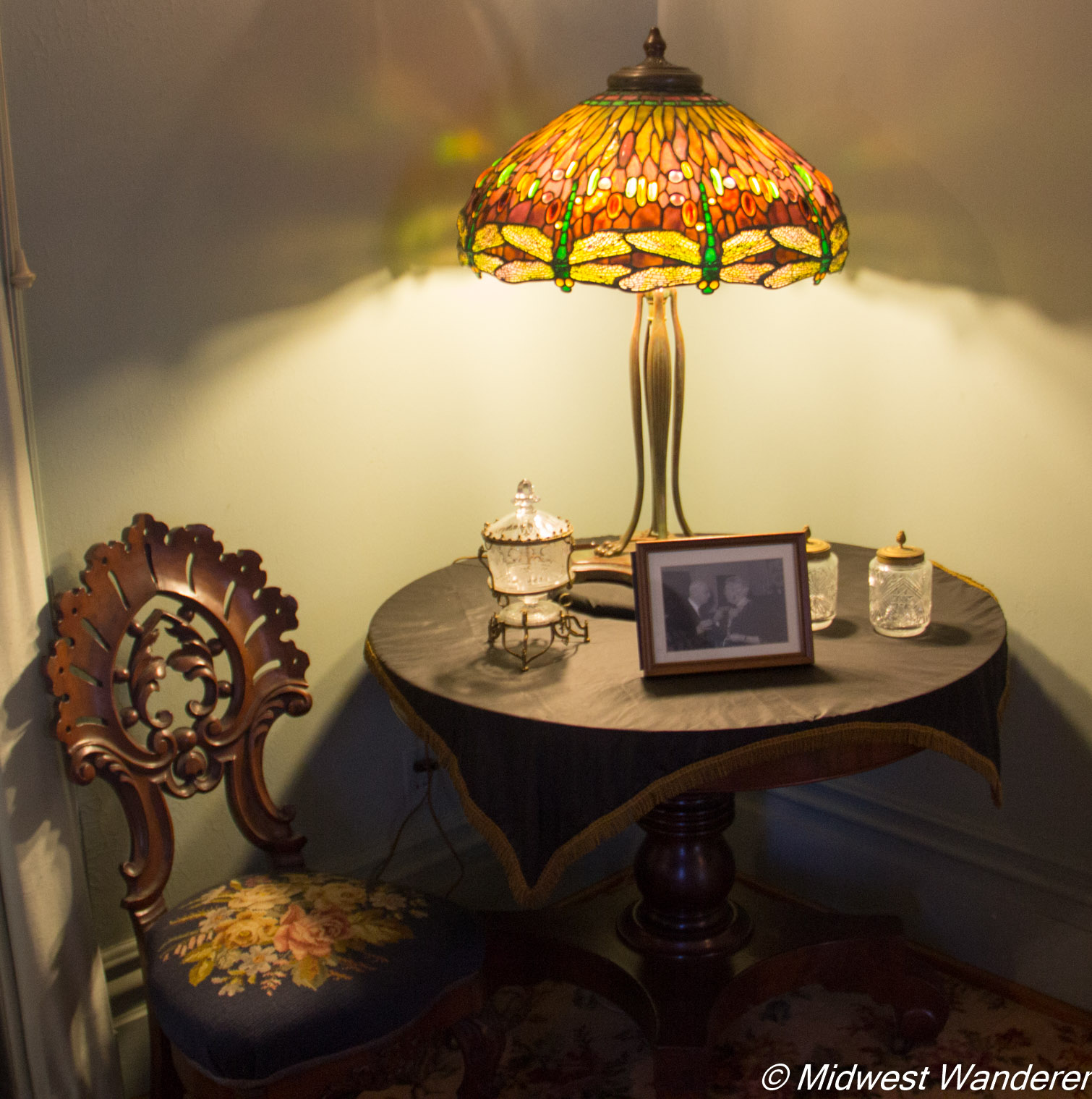 Pettengill-Morron House - Tiffany lamp