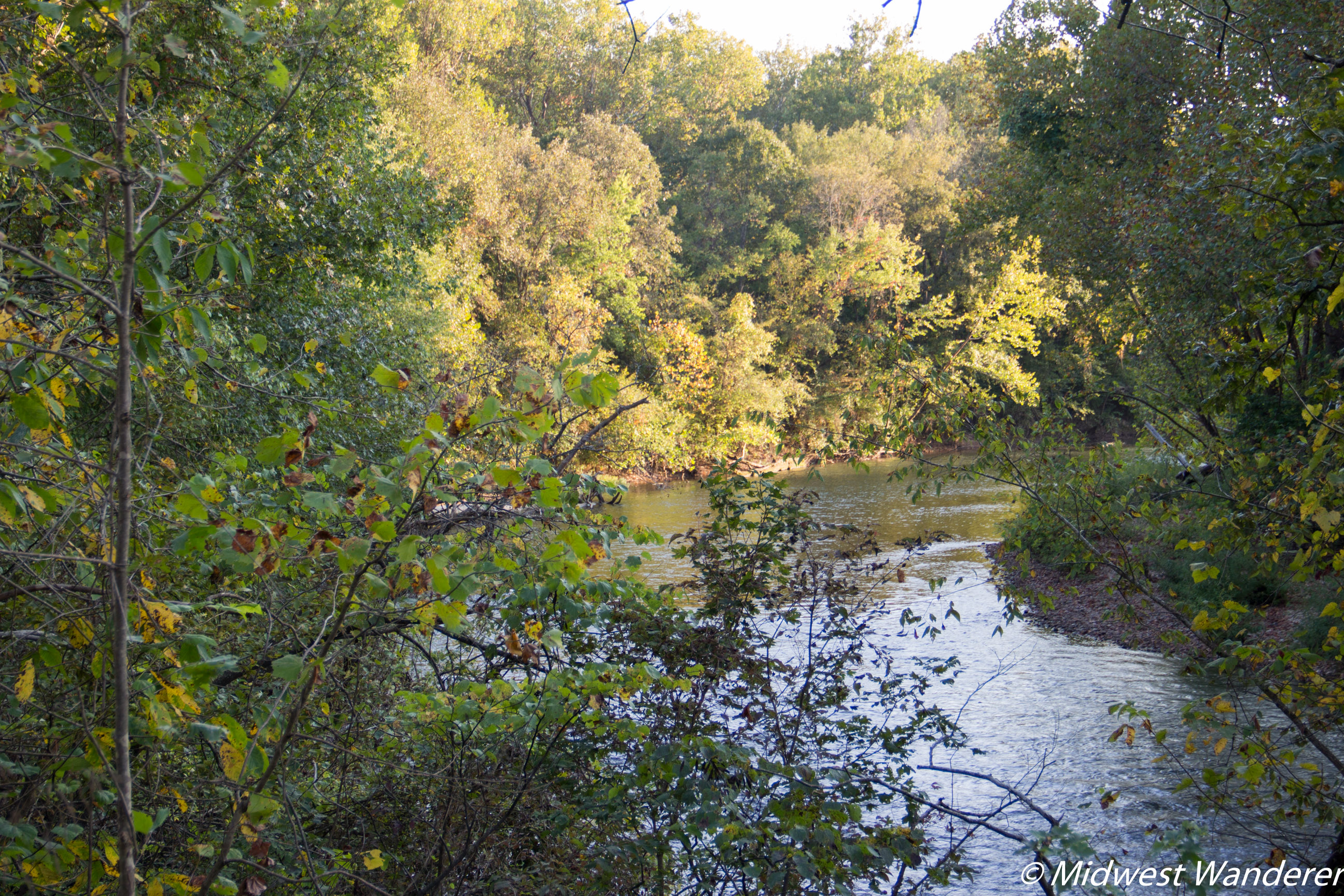 Big Piney River, Devil's Elbow in Pulaski County Missouri